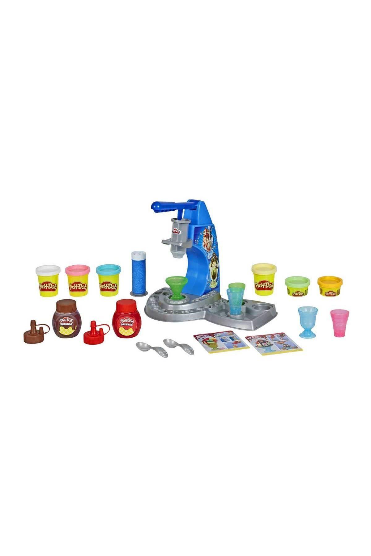 Play-Doh Renkli Dondurma Dükkanım E6688