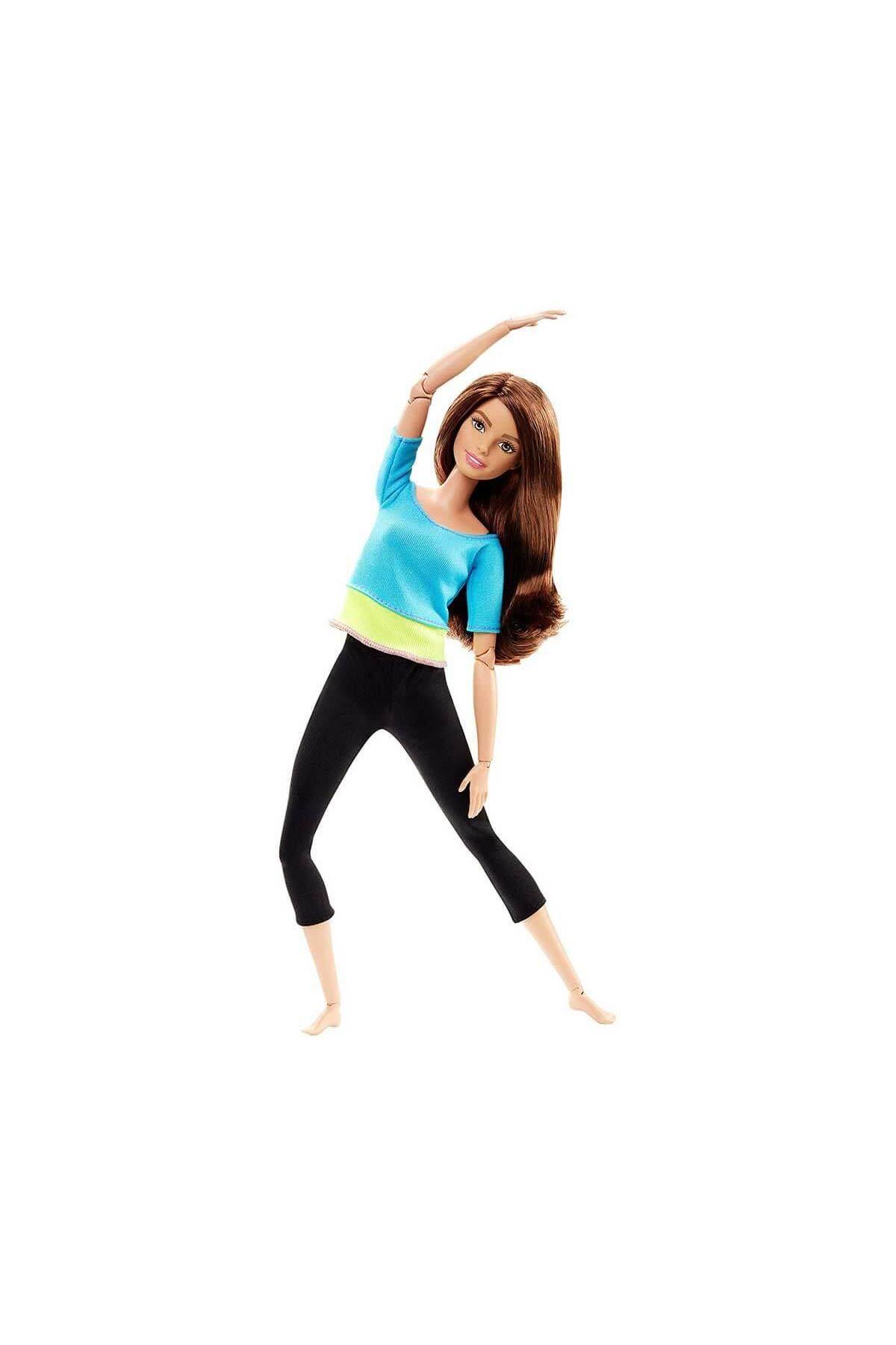 Barbie Sonsuz Hareket Bebeği (Kumral) DJY08