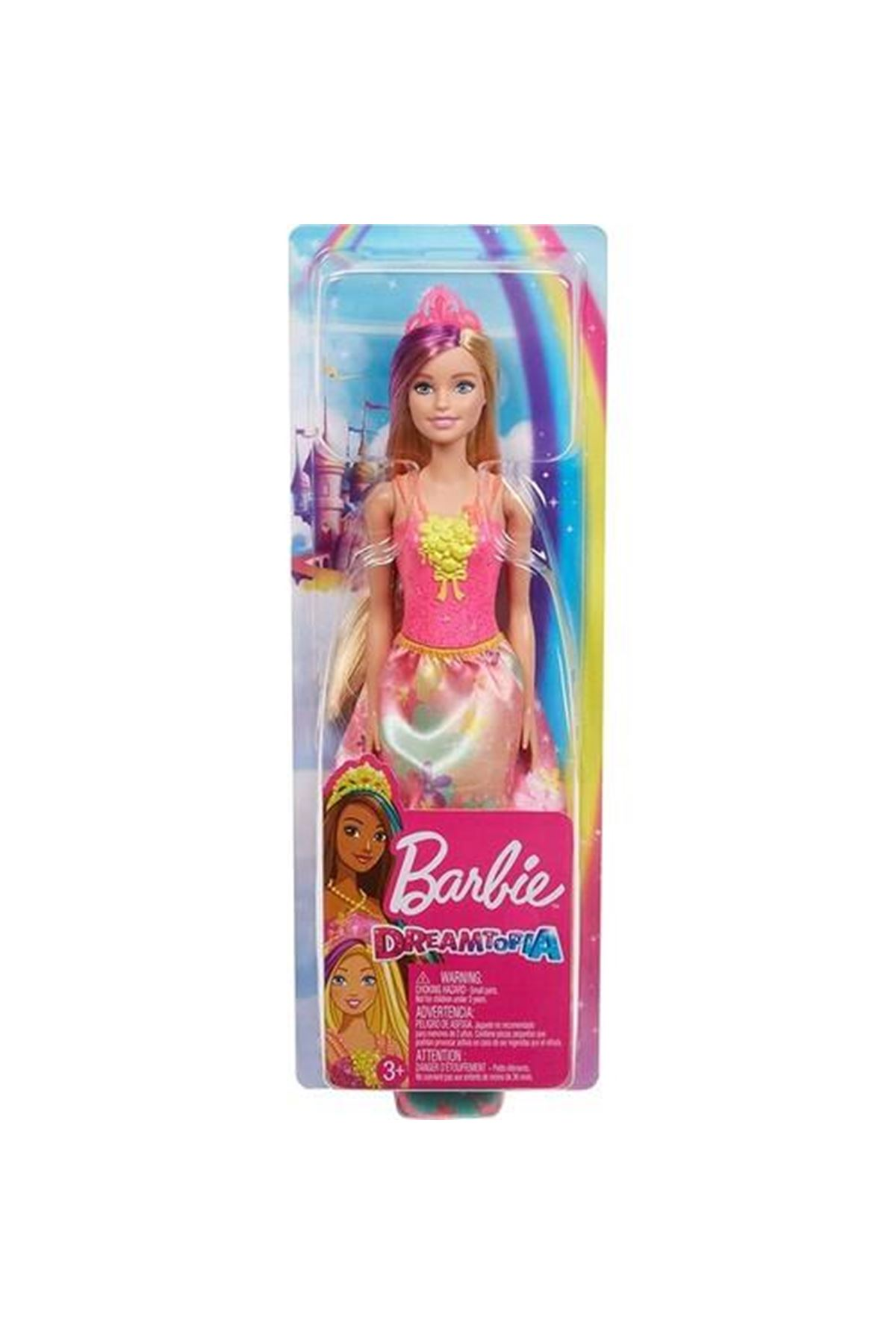 Barbie Dreamtopia Prenses Bebekler GJK12