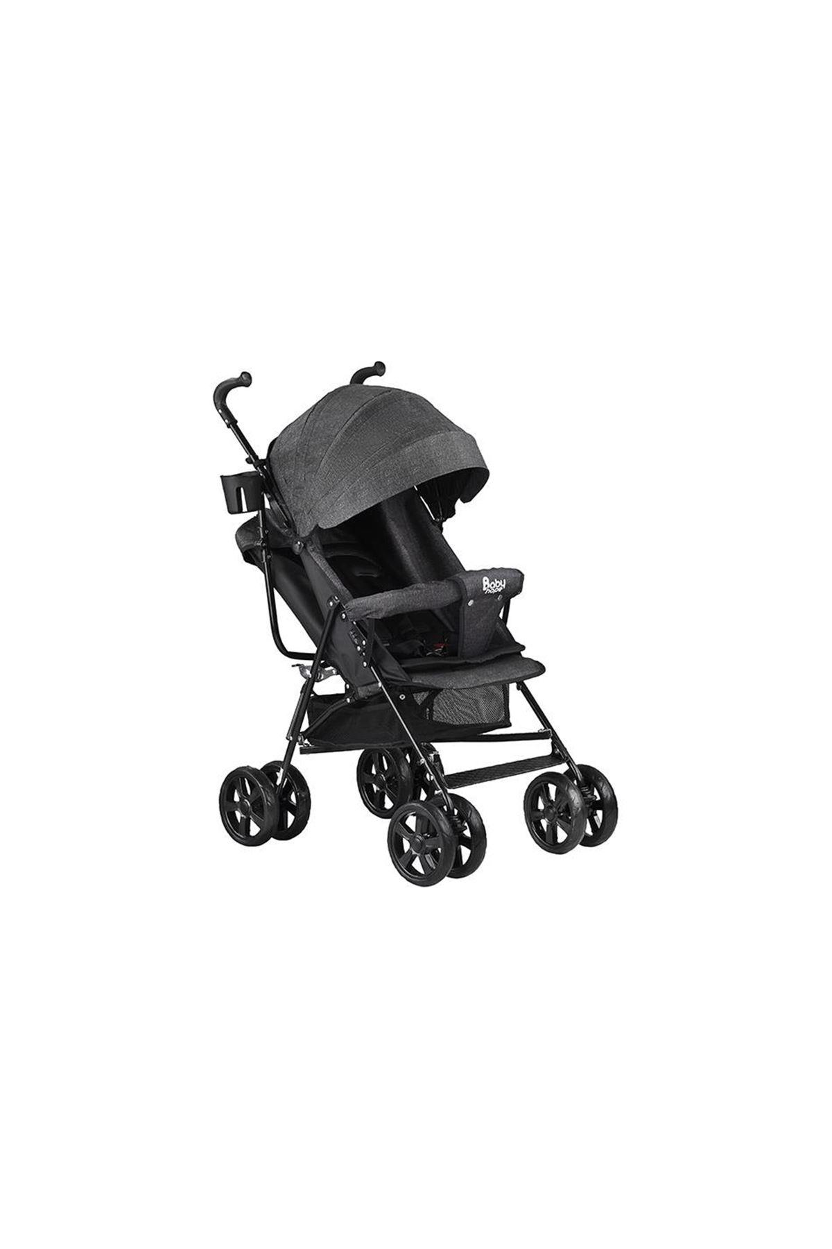 Babyhope SA7 Baston Bebek Arabası Siyah