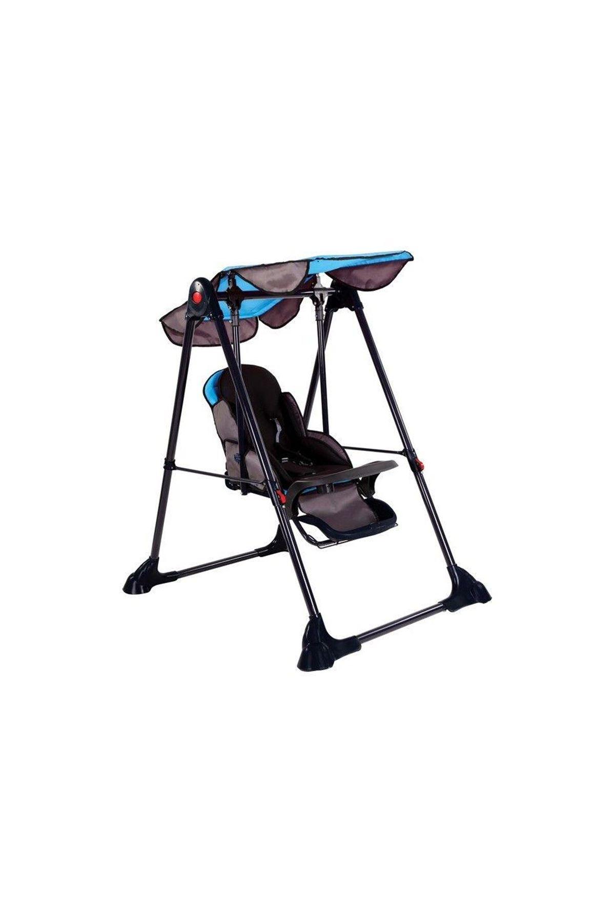 Babyhope 805 Baby Swing Bebek Salıncak Mavi-Siyah