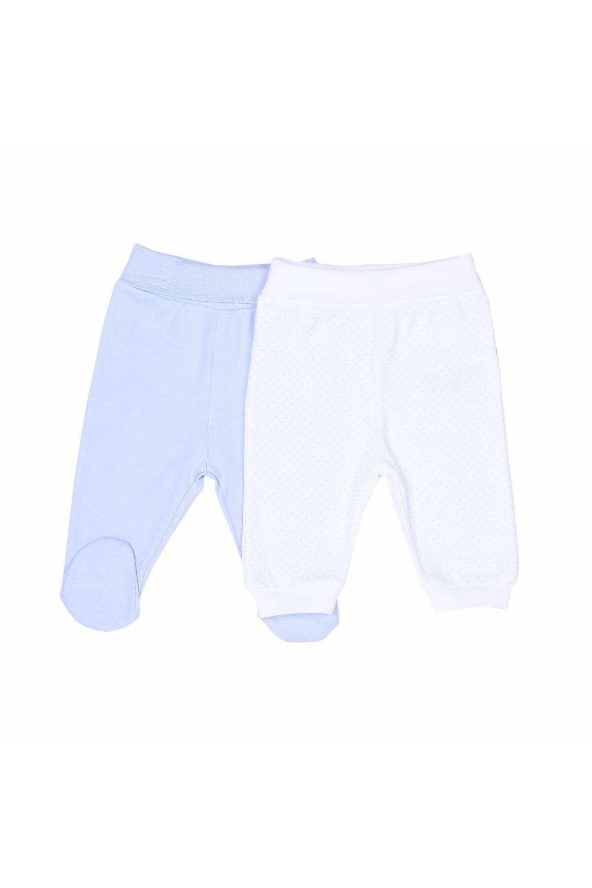 KitiKate Dreams Puanlı 2li Tek Alt Pantolon 91038 Mavi