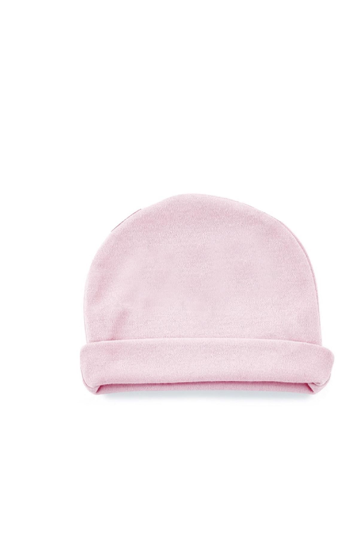 BabyJem Yenidoğan Bebe Şapka 397 Pembe
