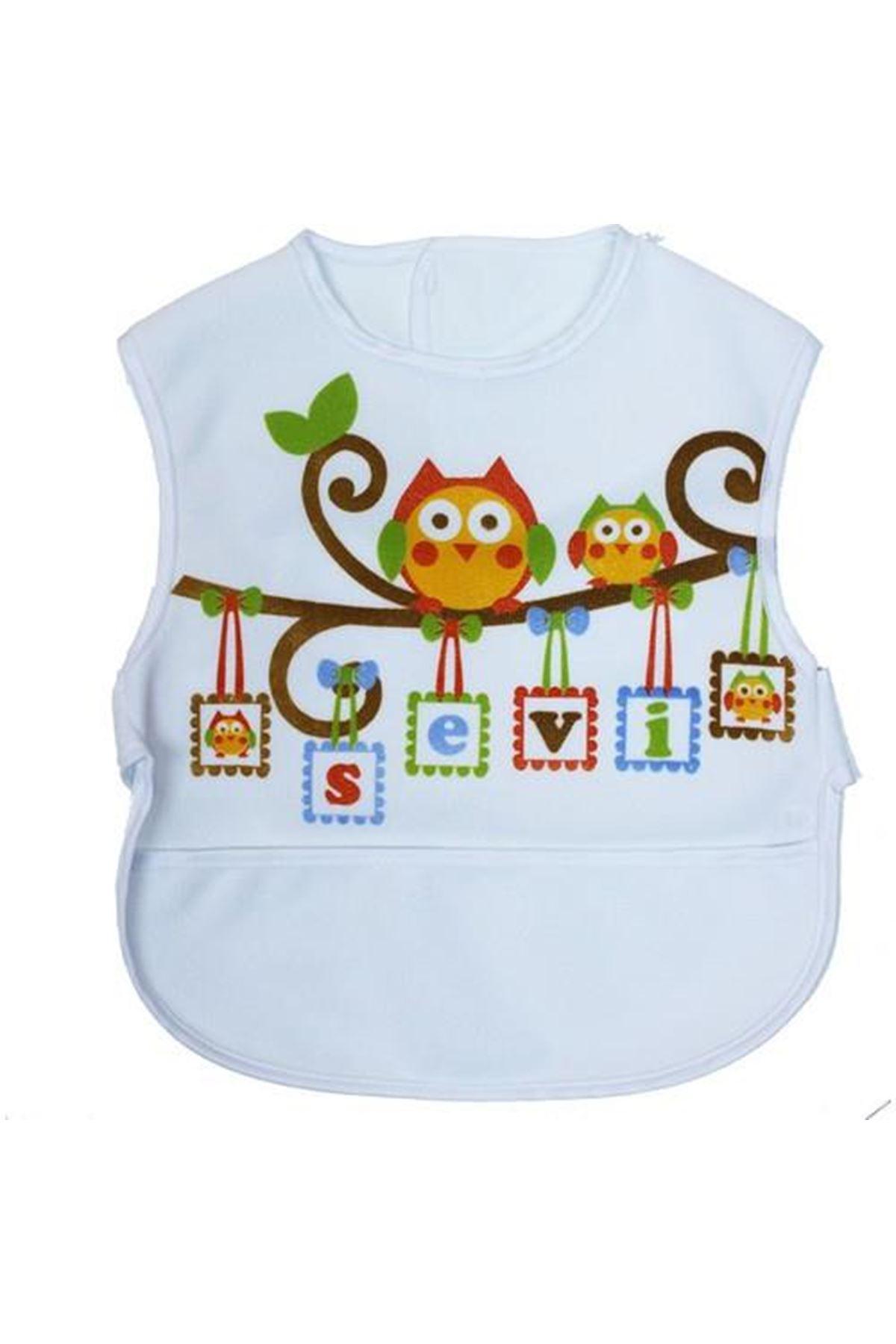 Sevi Bebe Lüks Giymeli Önlük ART-19 Baykuş