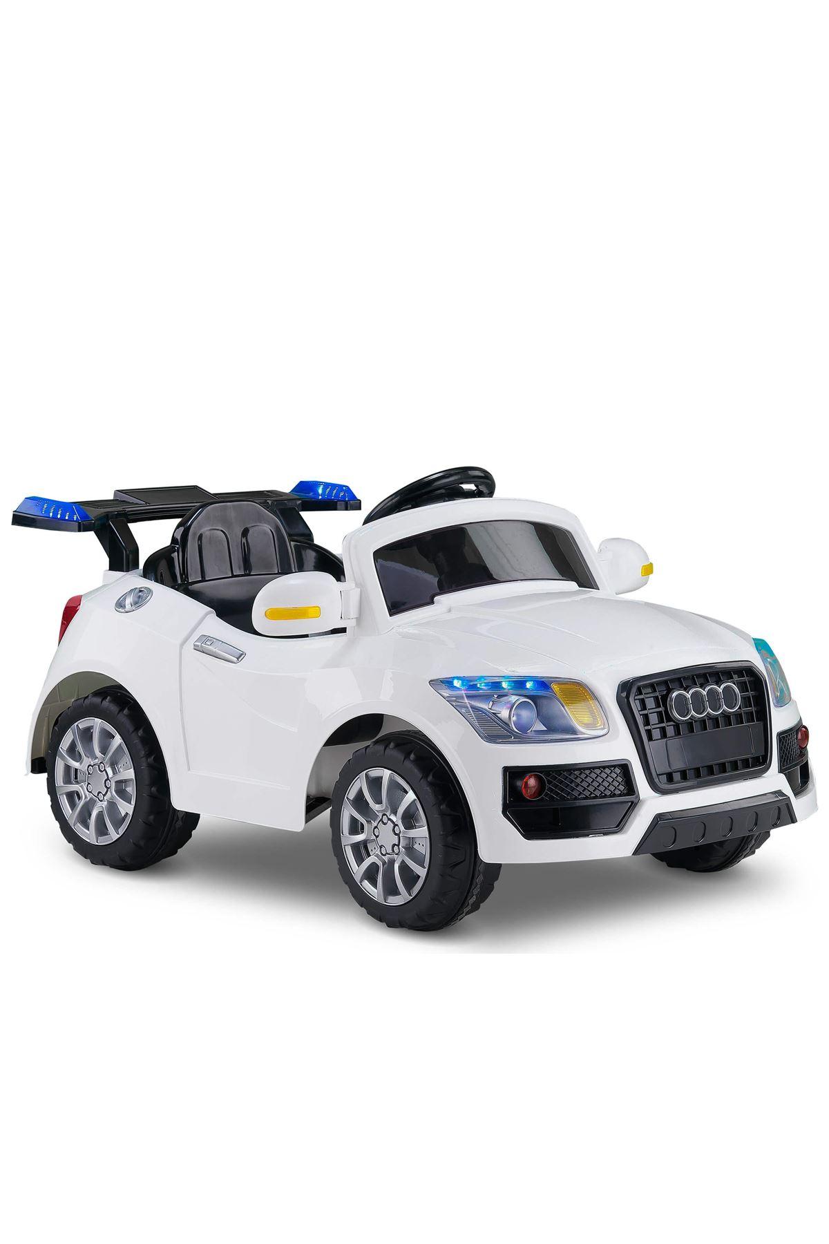 Babyhope Akülü Araba 436 Beyaz