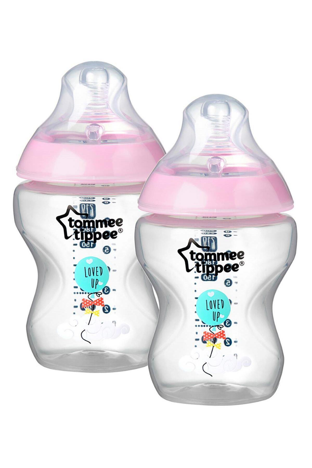 Tommee Tippee PP Closer To Nature Biberon 2li 260 ml Pembe