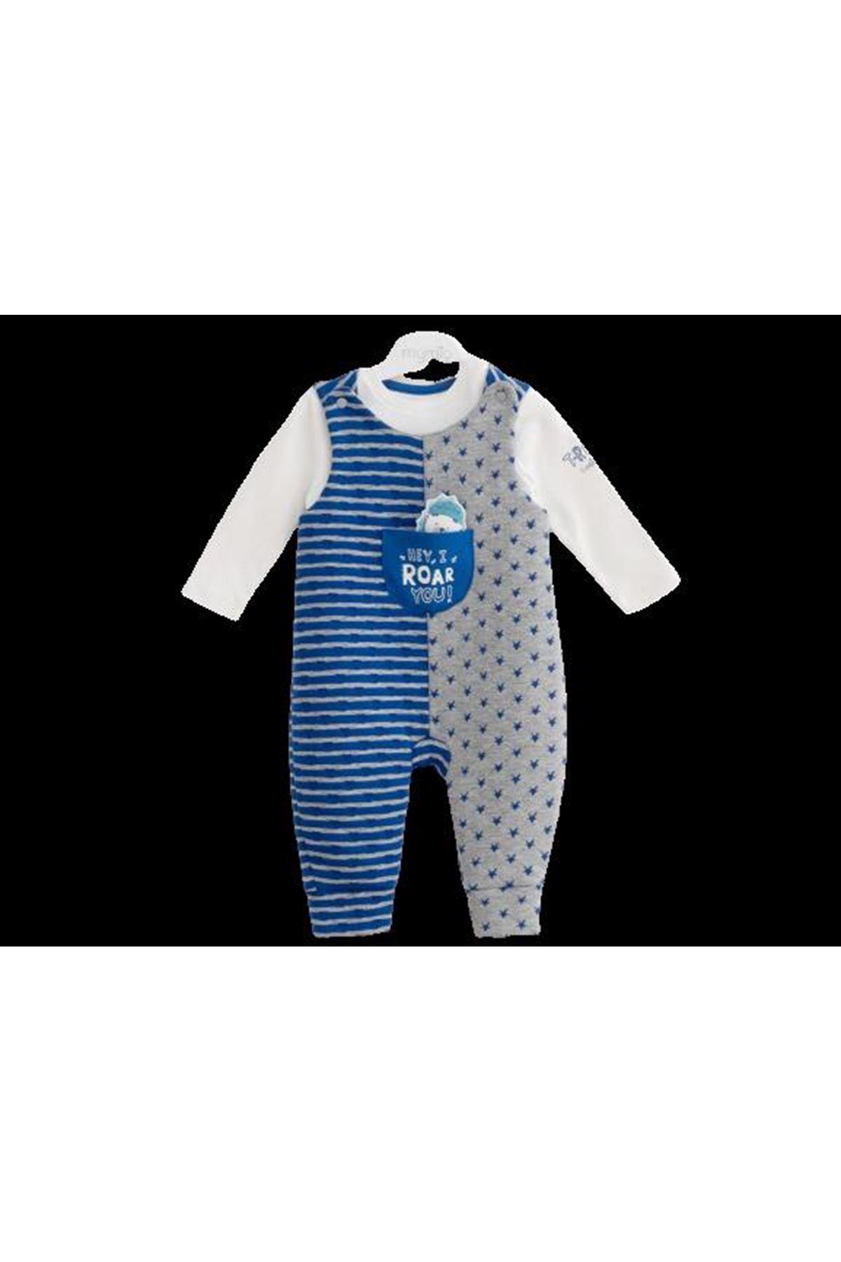 Mymio Baby Sürpriz Ayı Slopet Tulum 2825 Lacivert