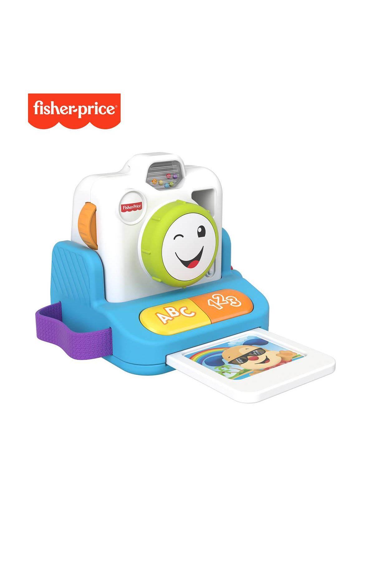 Fisher Price Eğlen ve Öğren Fotoğraf Makinesi GRW46