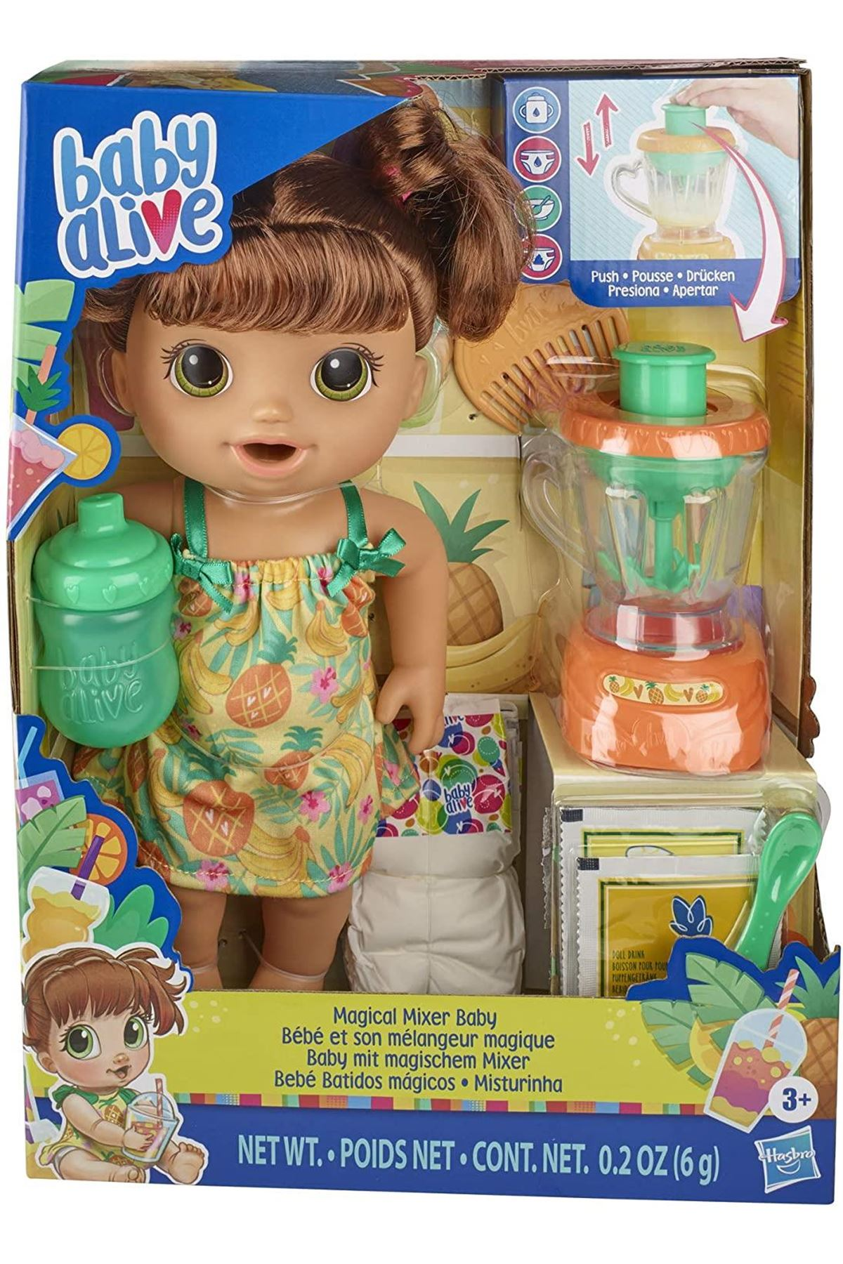Baby Alive Magical Mixer Baby Pineapple E6944