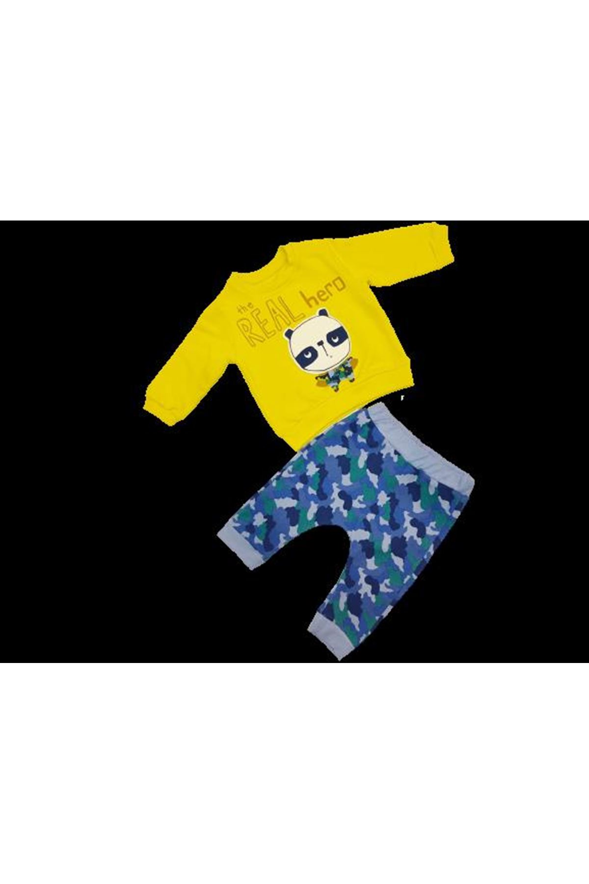 Tongs Baby 2 li Bebe Takım 2683 Mavi