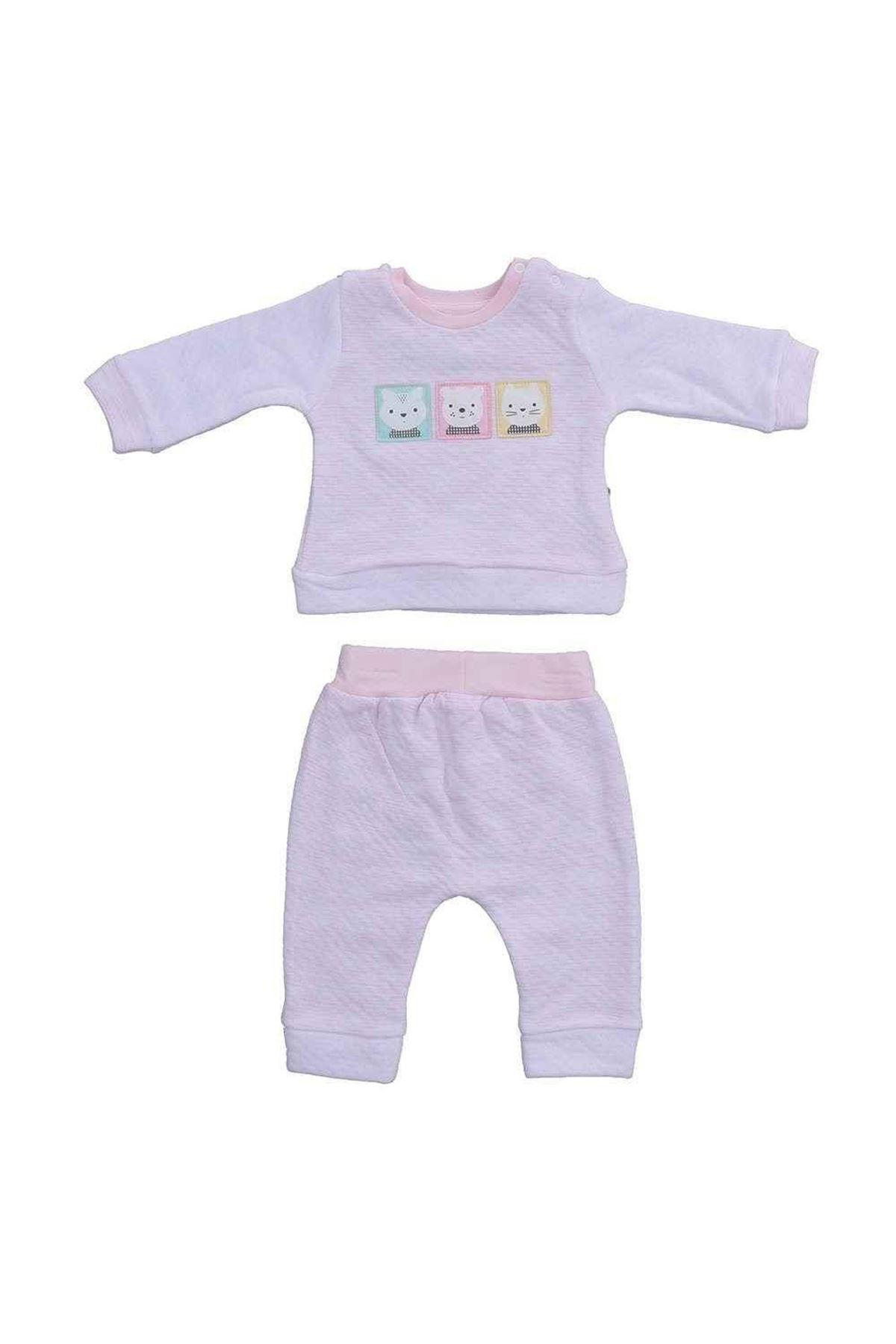 Tongs Baby 2li Bebe Takım 1765 Pembe