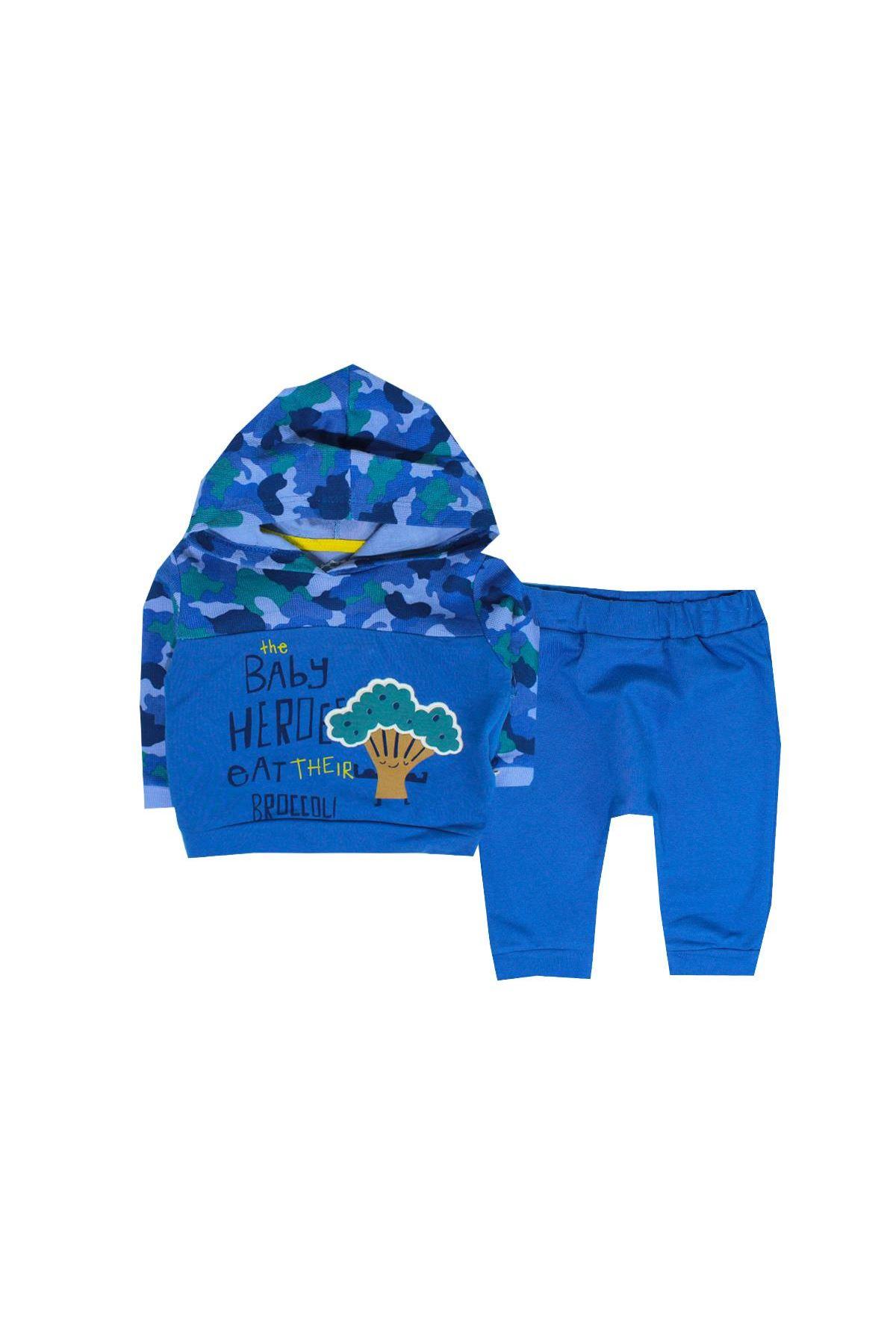 Tongs Baby 2li Bebe Takım 2682 Mavi