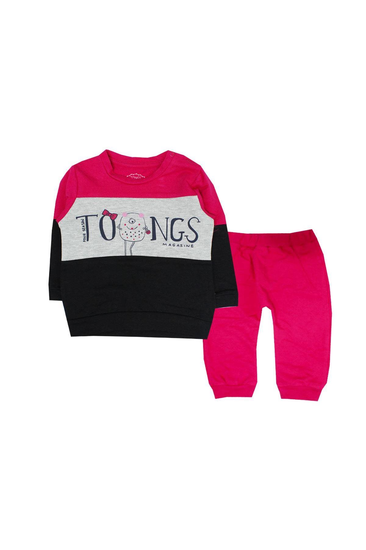 Tongs Baby 2li Bebe Takım 2638 Fuşya