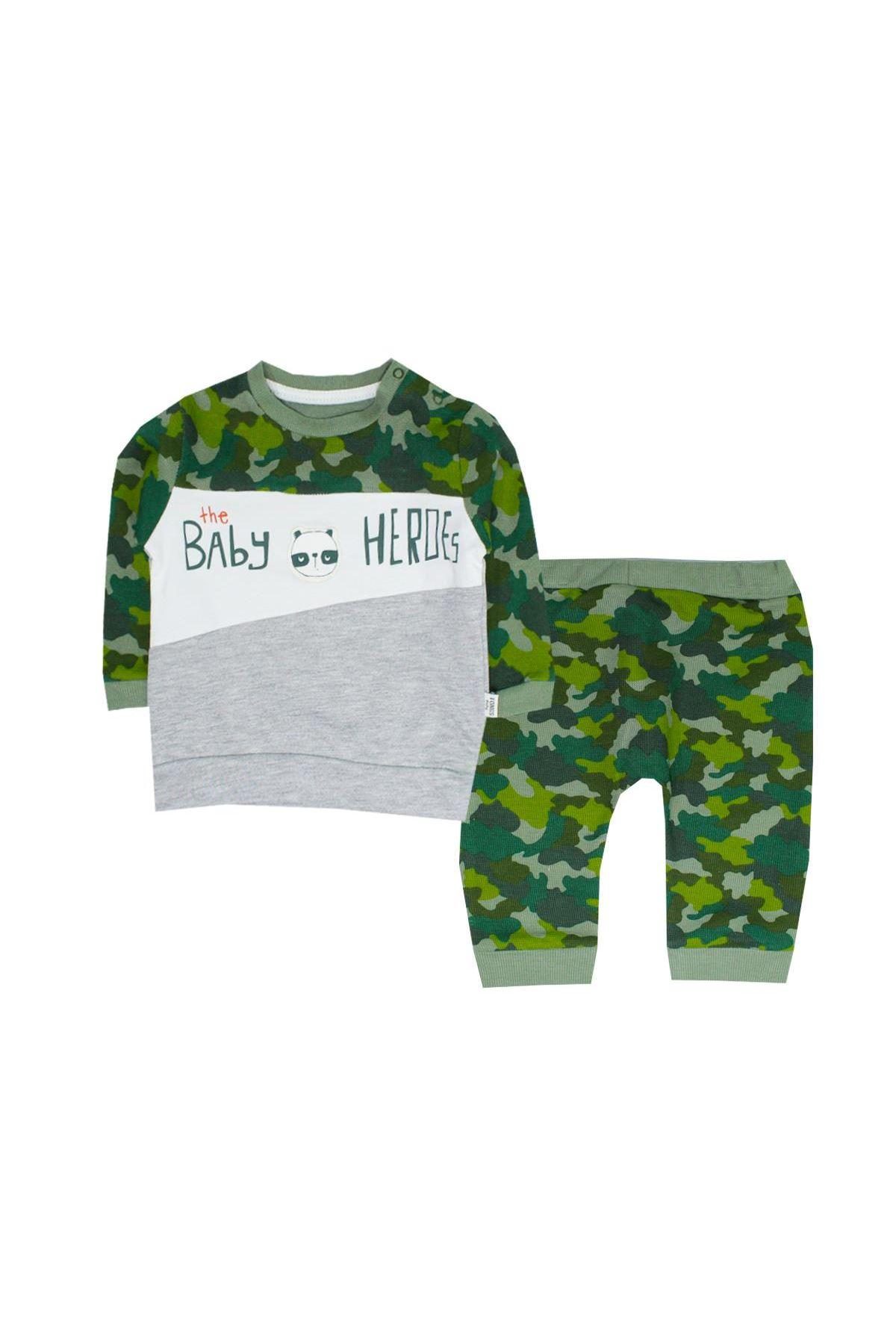 Tongs Baby 2li Bebe Takım 2688 Yeşil