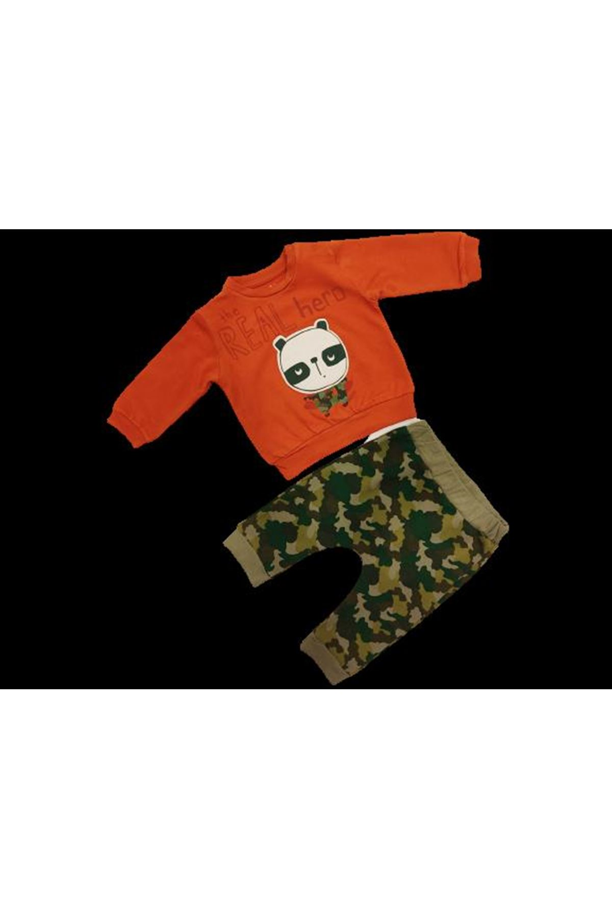 Tongs Baby 2 li Bebe Takım 2683 Yeşil