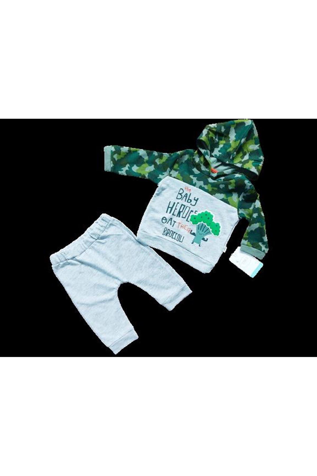 Tongs Baby 2li Bebe Takım 2682 Yeşil