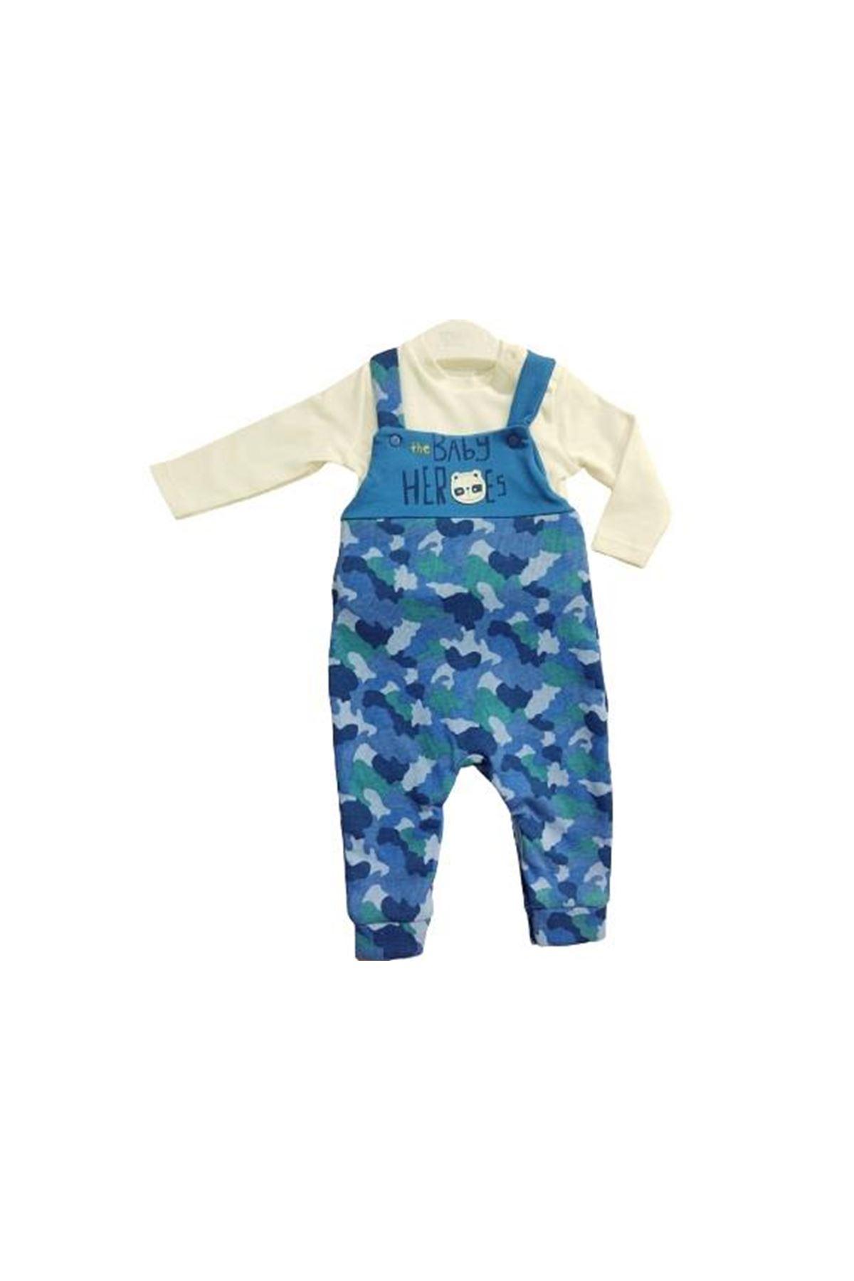 Tongs Baby Salopet Tulum 2686 Mavi