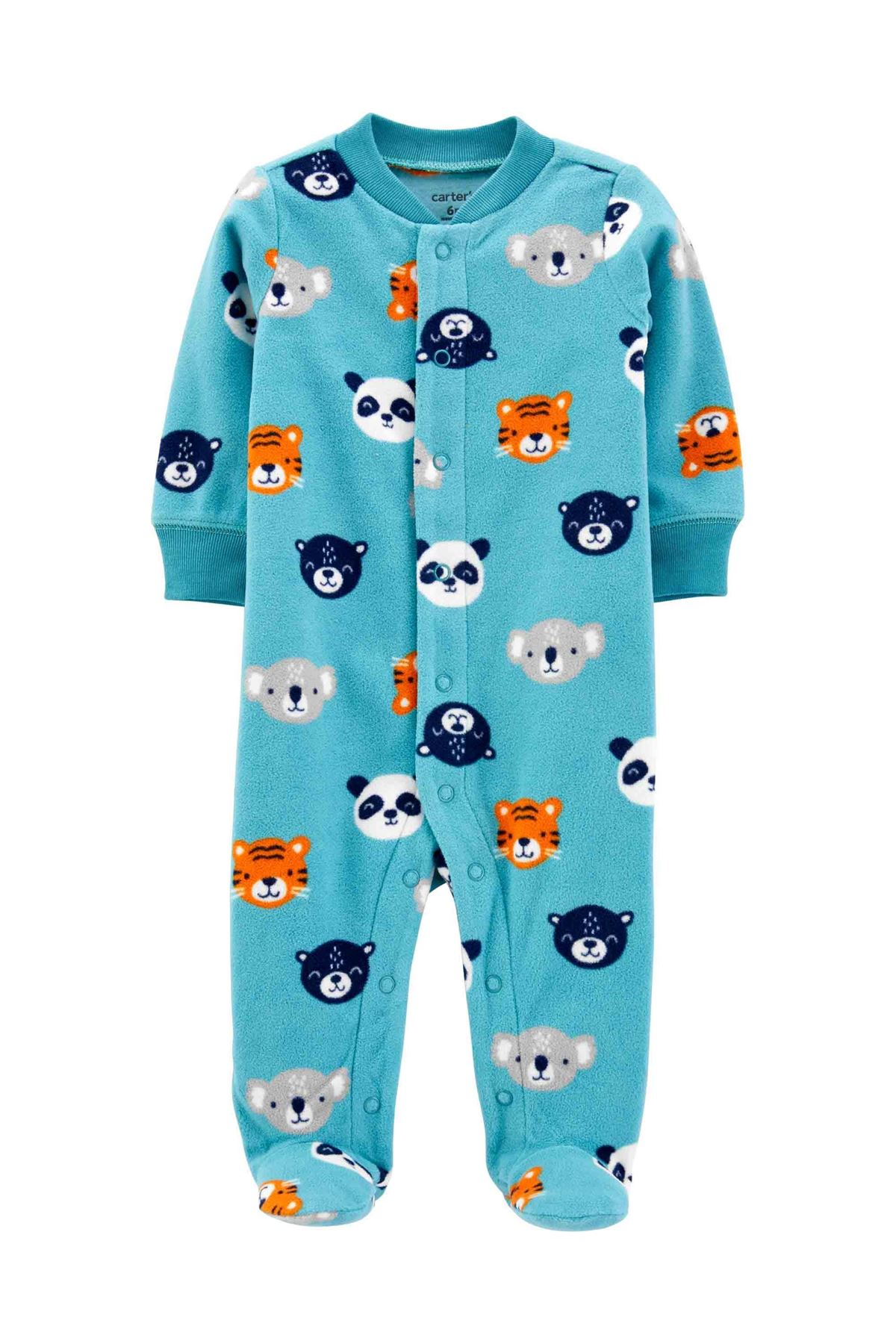 Carter's Erkek Bebek Polar Tulum 1J106910 Blue