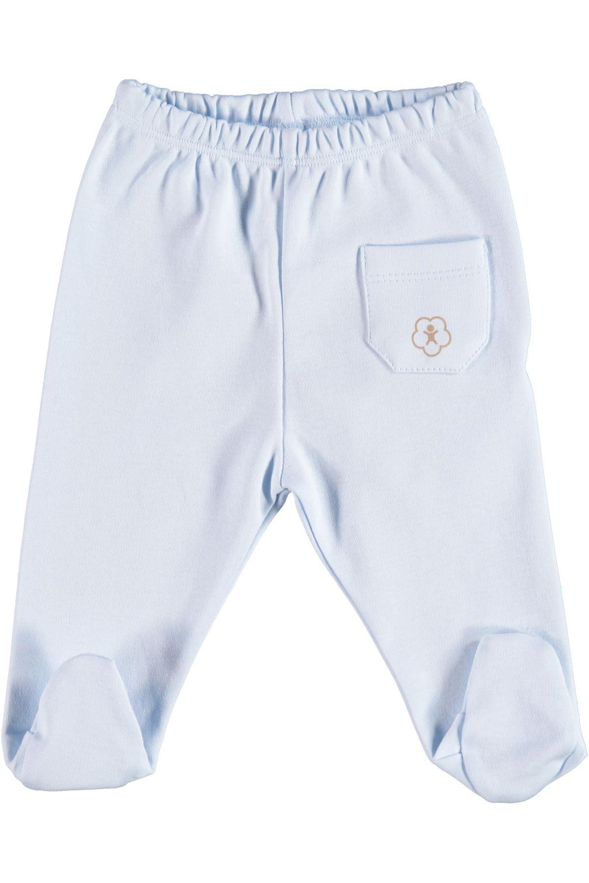 Bibaby Basic Patikli Pantolon 57499 Mavi