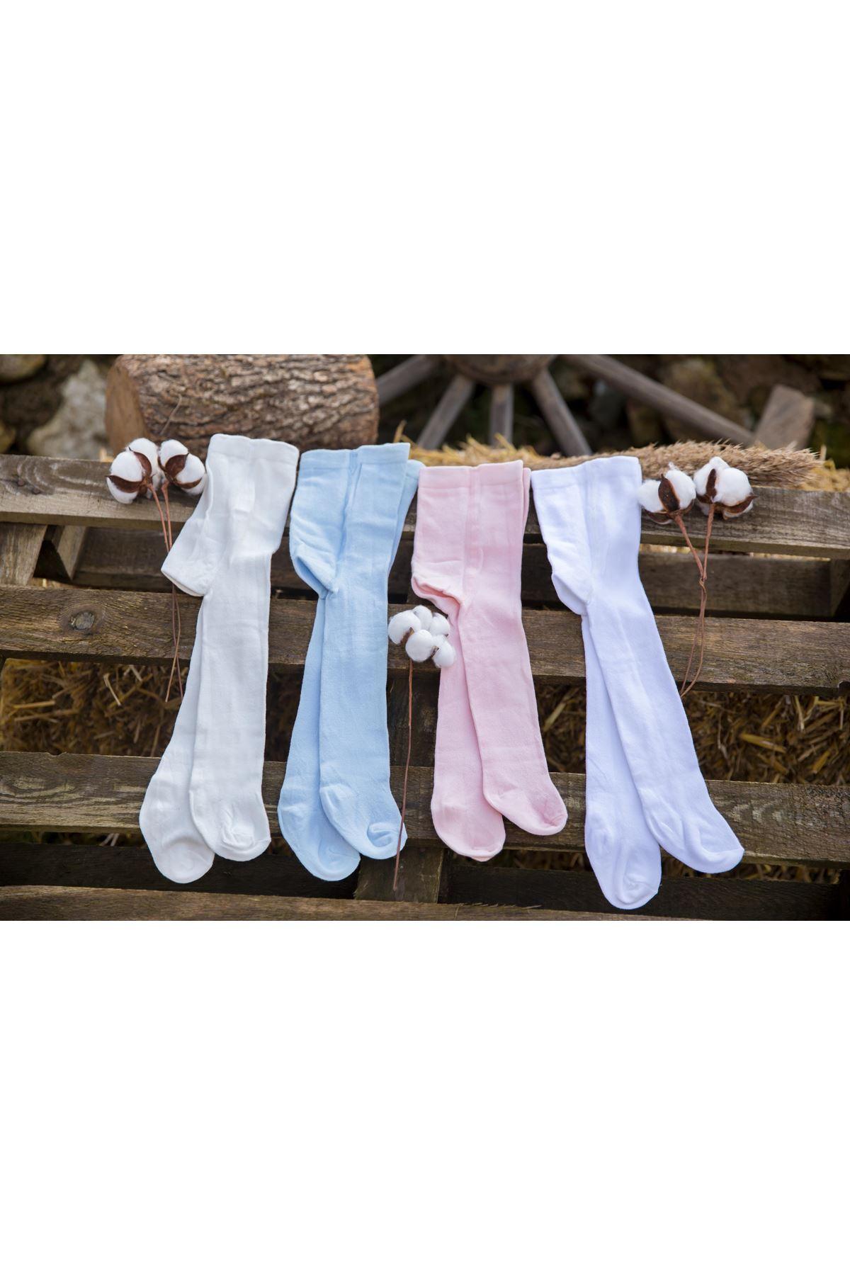 Bibaby Basic Külotlu Çorap 68235 Beyaz