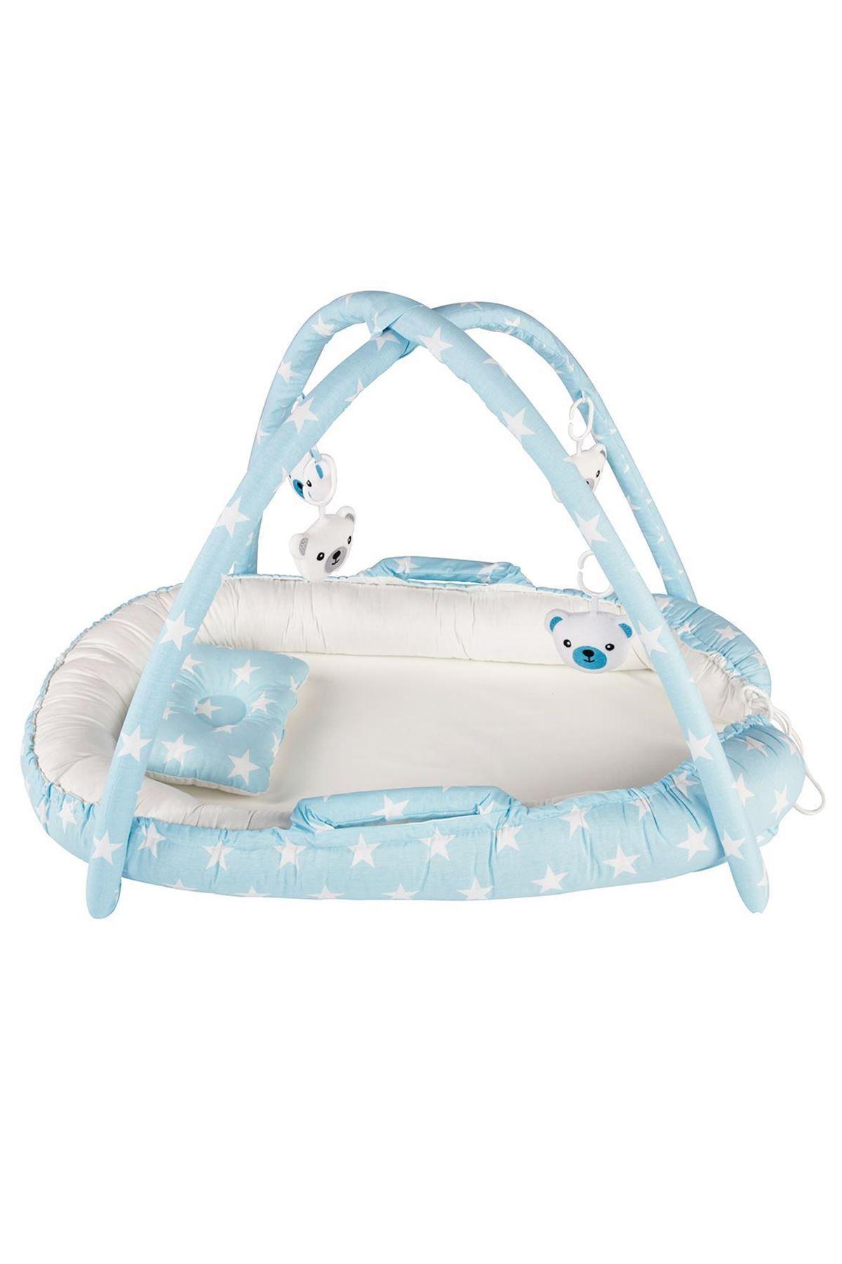 Moje Eğlenceli Uyku Yatağı Mavi Yıldız