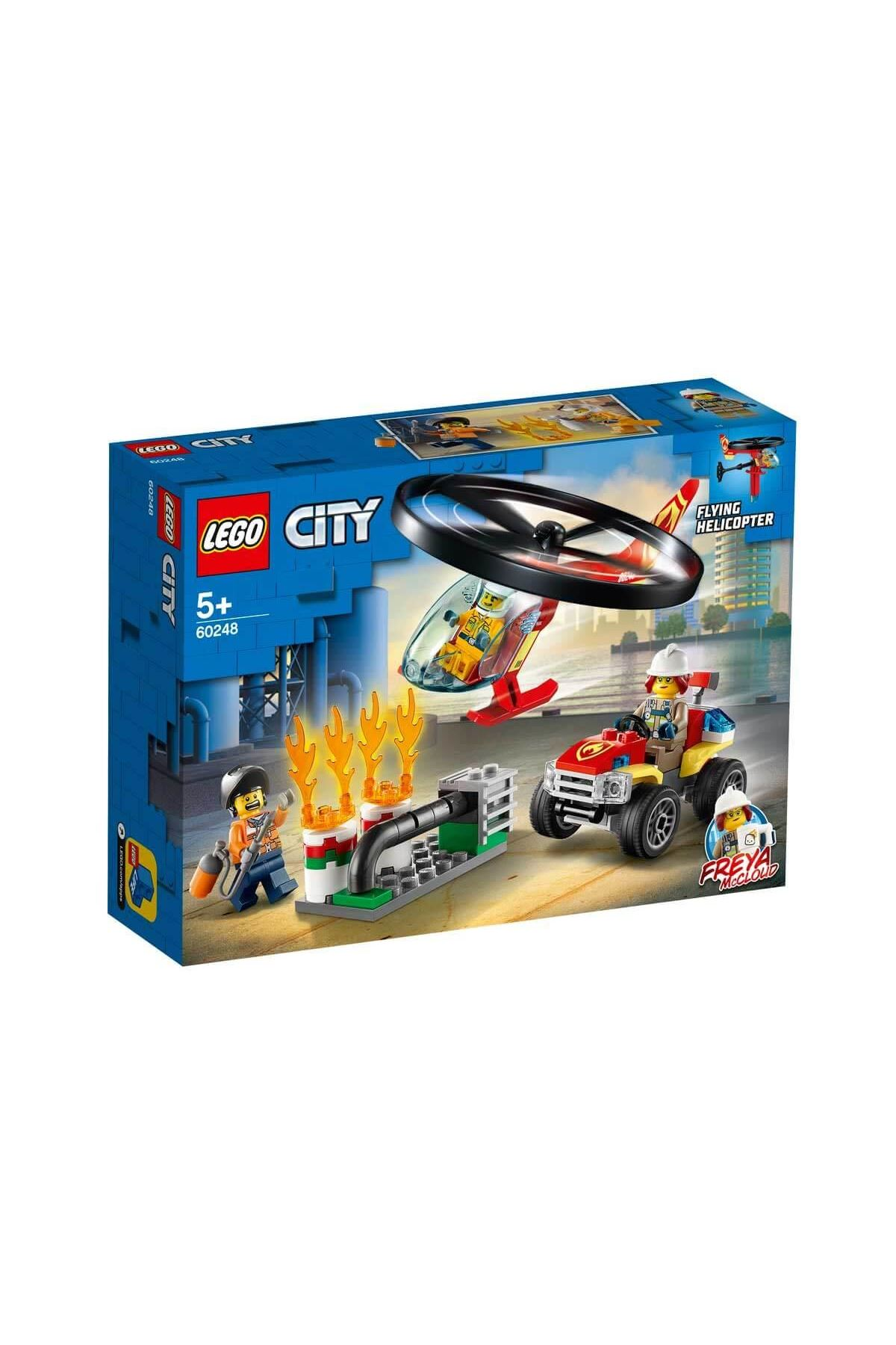 Lego City İtfaiye Helikopteri Müdahalesi 60248