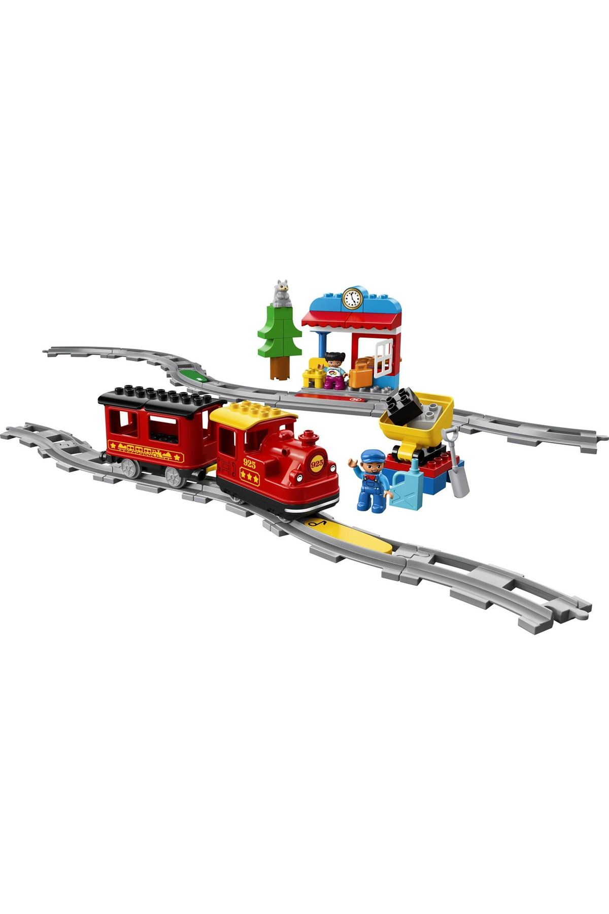 Lego Duplo Buharlı Tren Okul Öncesi Öğretici Oyuncak Yapım Seti 10874