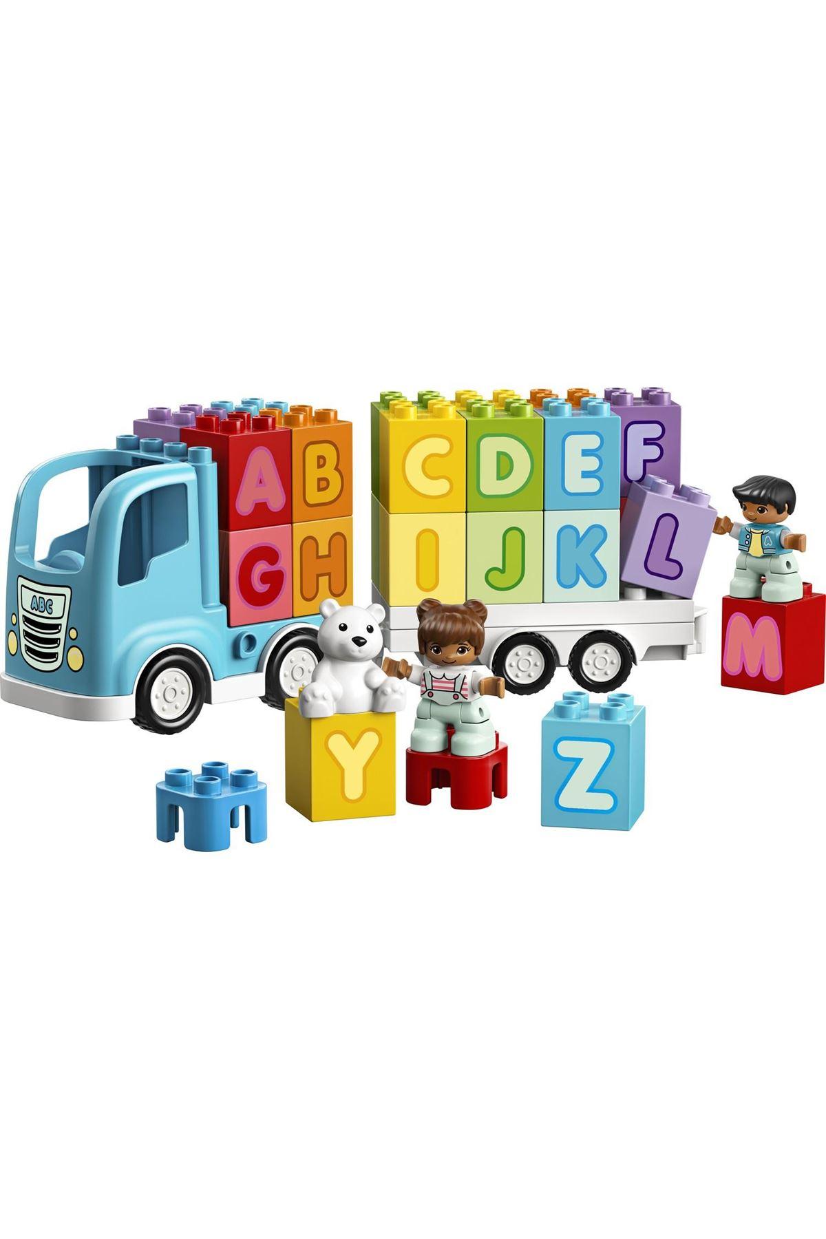 Lego Duplo Alfabe Kamyonu Okul Öncesi Öğretici Oyuncak Yapım Seti 10915