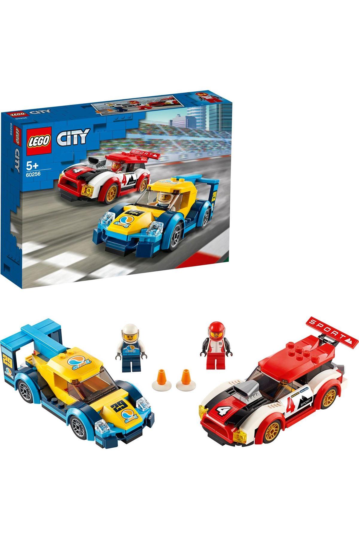 Lego City Yarış Arabaları Erkek Kız Çocuk Oyuncak Hediye Araba 60256