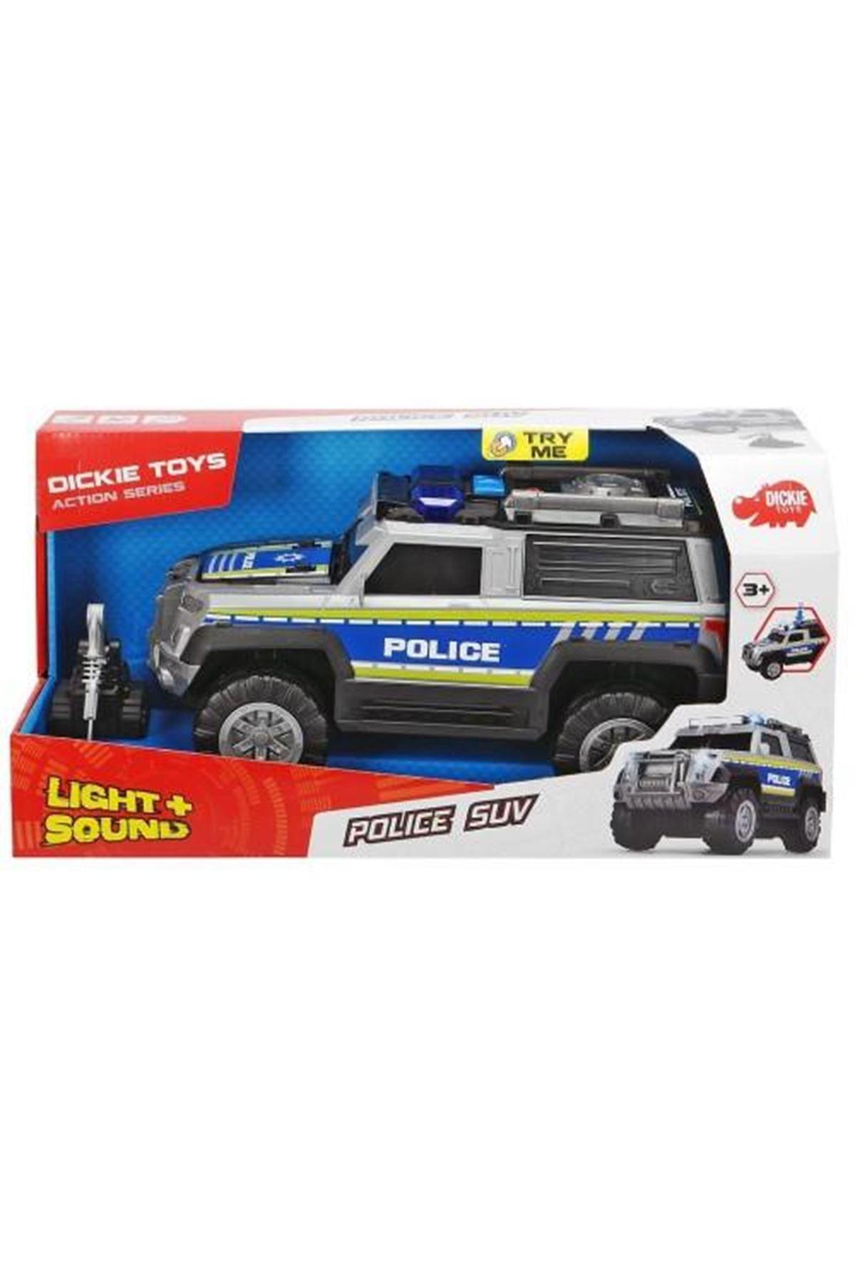 Dickie Toys Polis Arabası Suv Sesli Işıklı