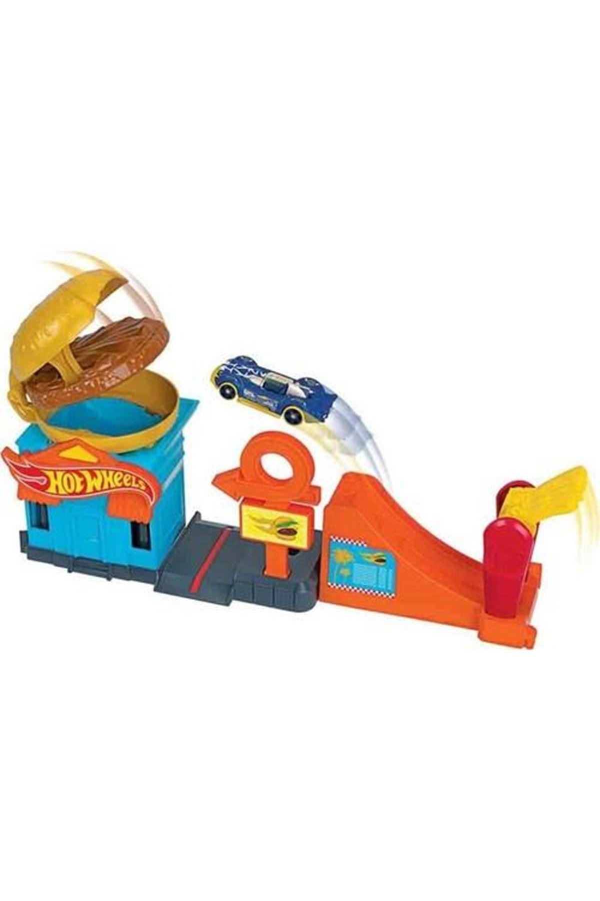 Hot Wheels Şehir Otoparkı Oyun Setleri FRH28 GPD09