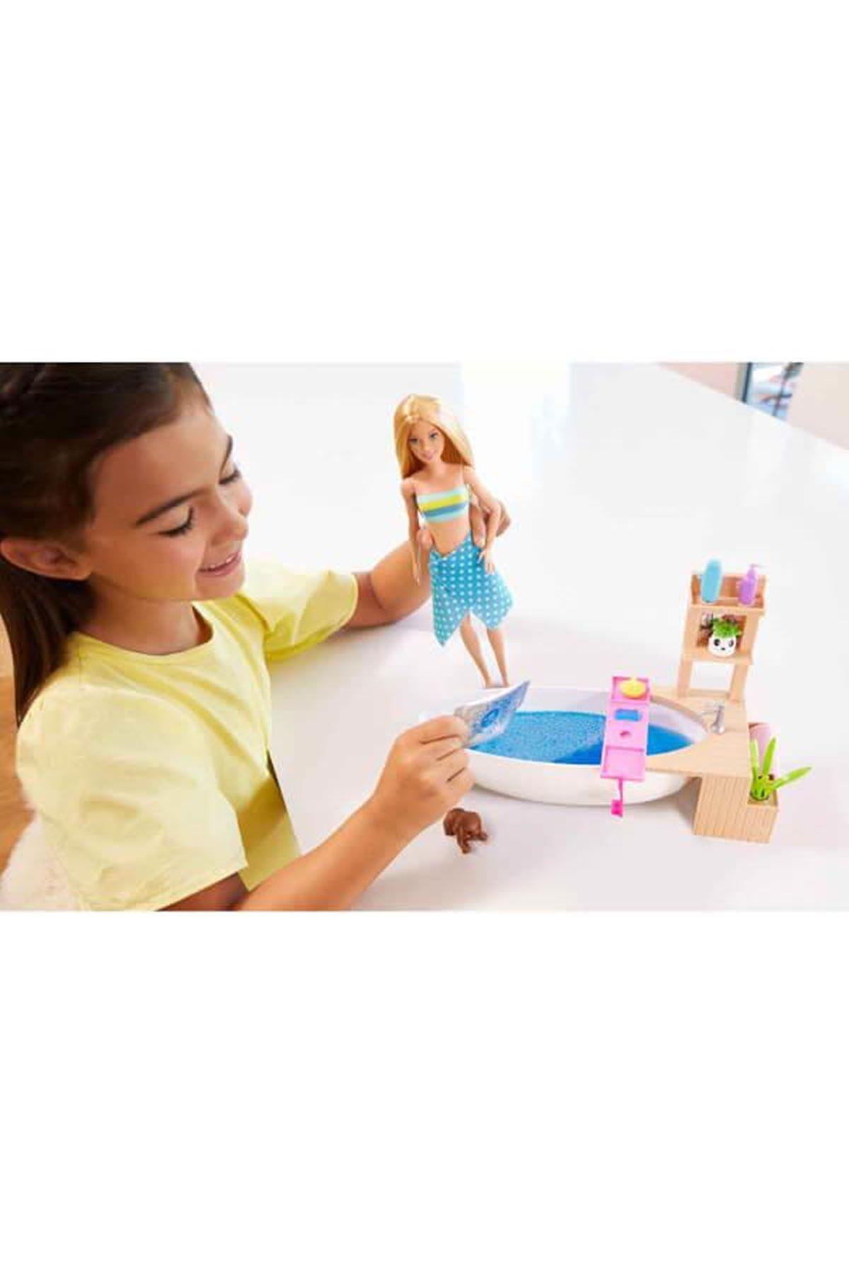 Barbie Wellness Barbie'nin Spa Günü Oyun Seti GJN32