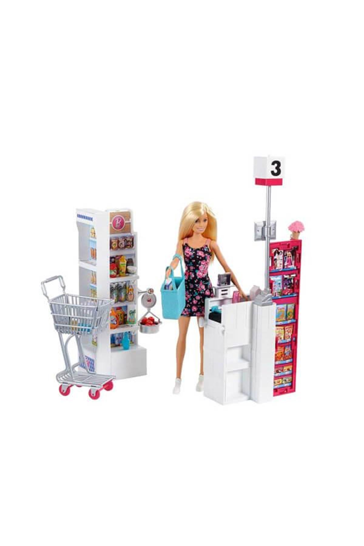 Barbie Süper Markette Oyun Seti FRP01