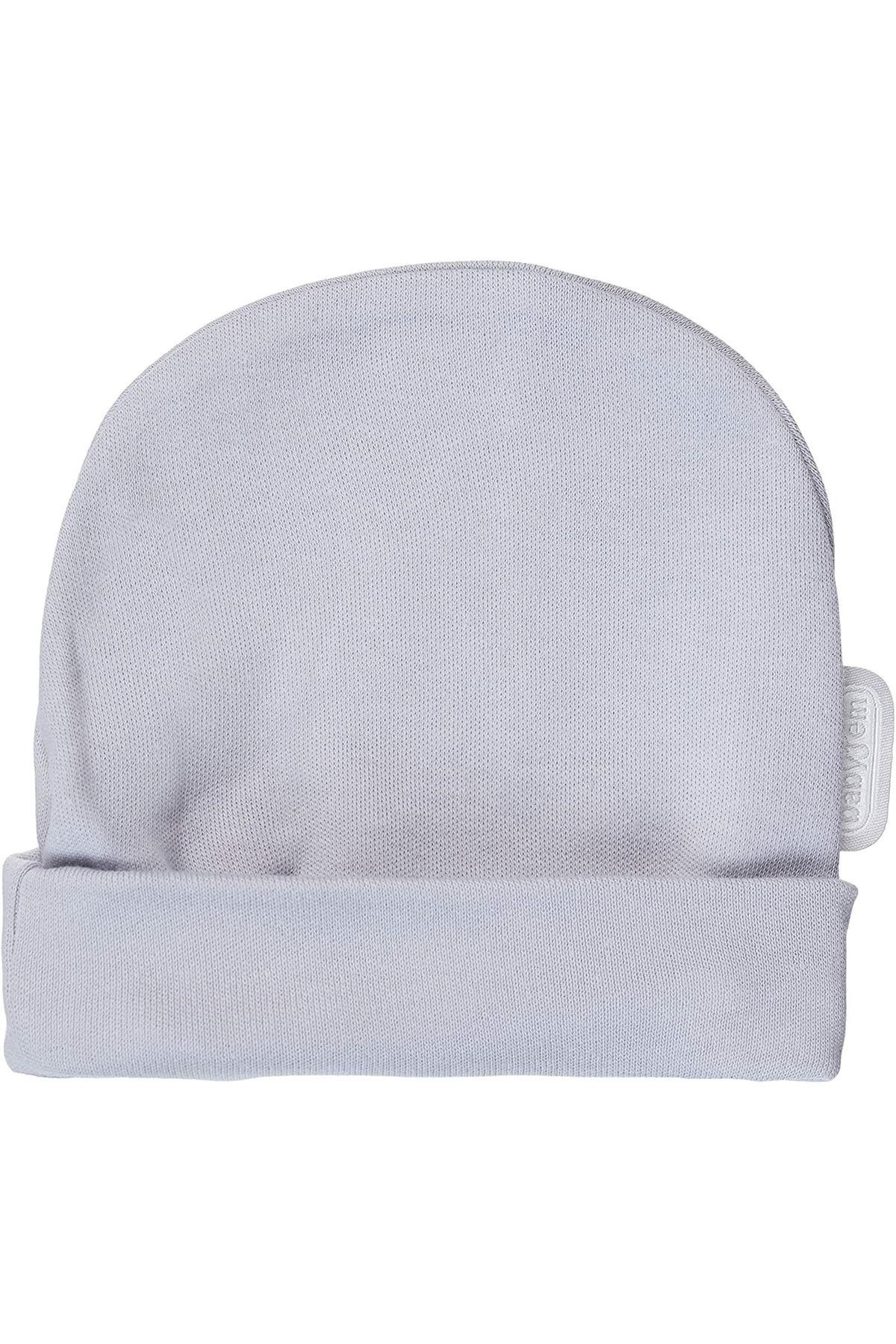 BabyJem Yenidoğan Bebe Şapka 397 Gri