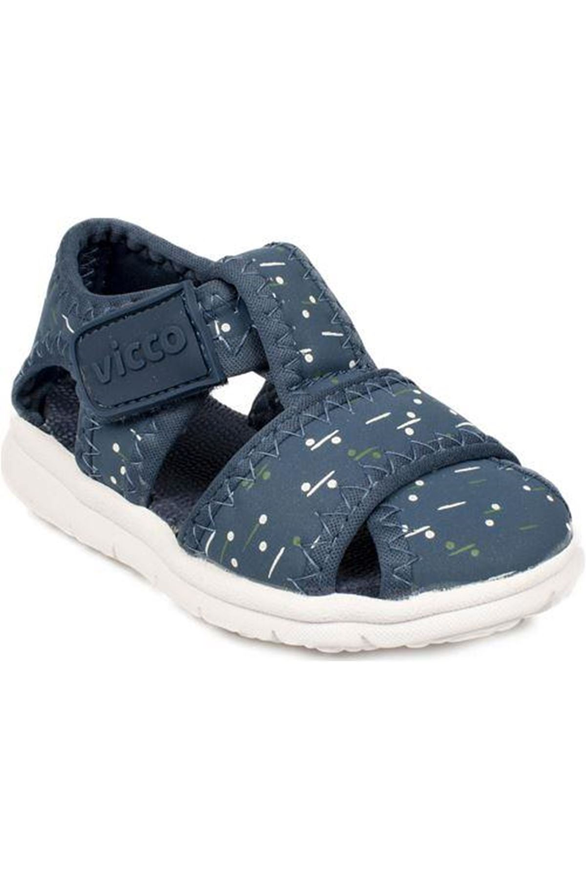 Vicco İlk Adım Deri Ayakkabı 332.E20Y.306 Lacivert