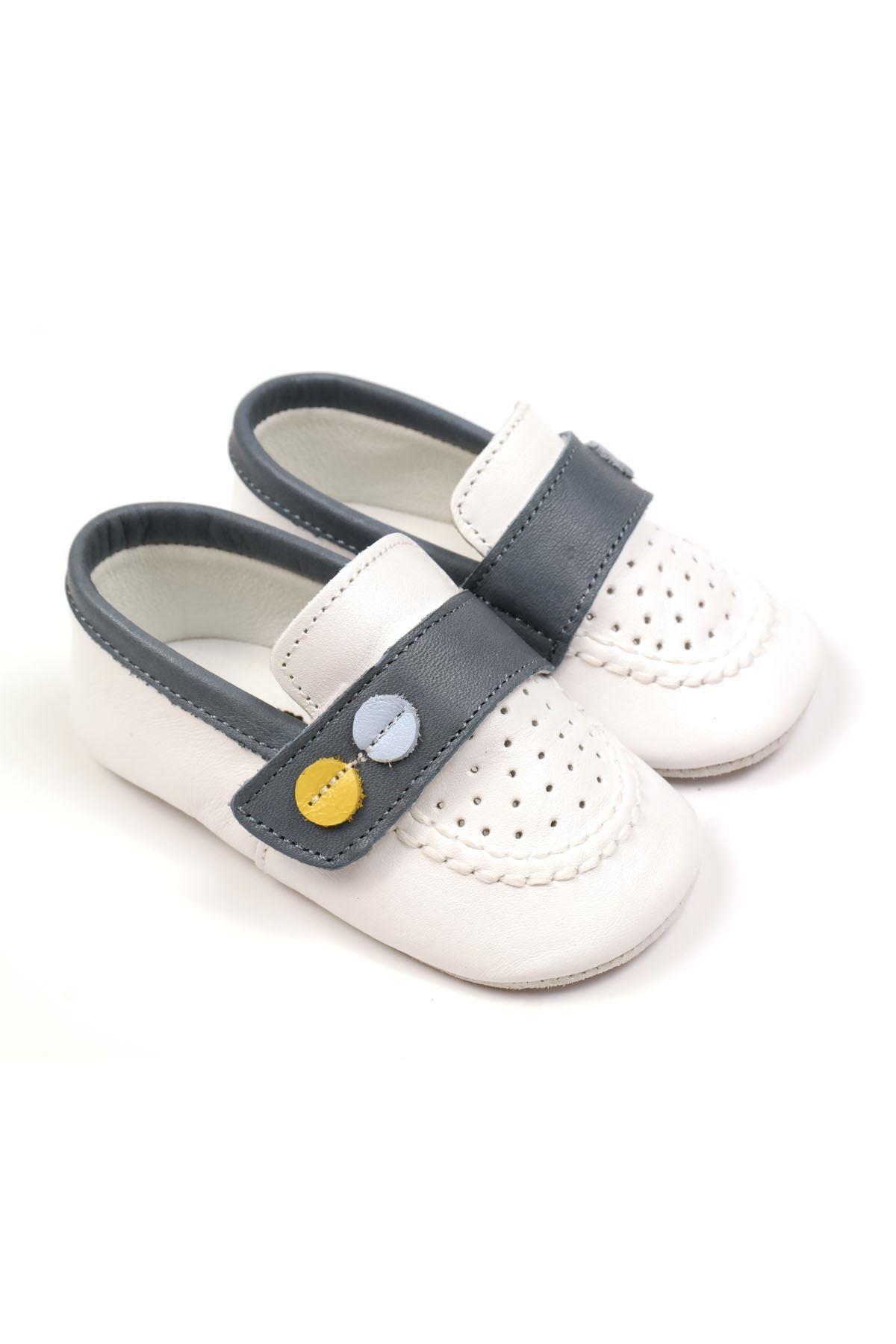 Funny Baby 4018 Bebe Patik Beyaz
