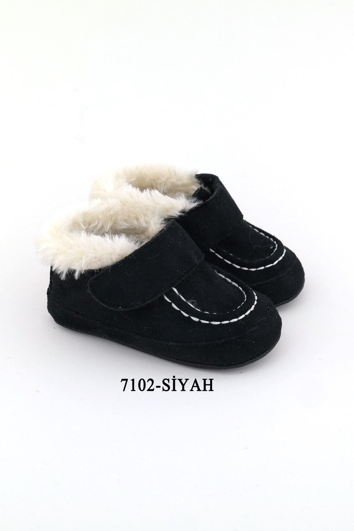 Funny Baby 7102 Bebe Patik Siyah
