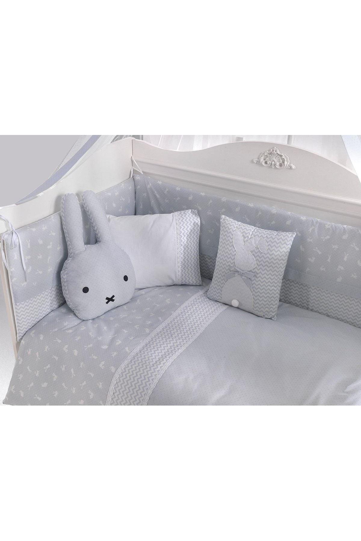 Kanz Bunny Bebek Beşik Uyku Seti Blue