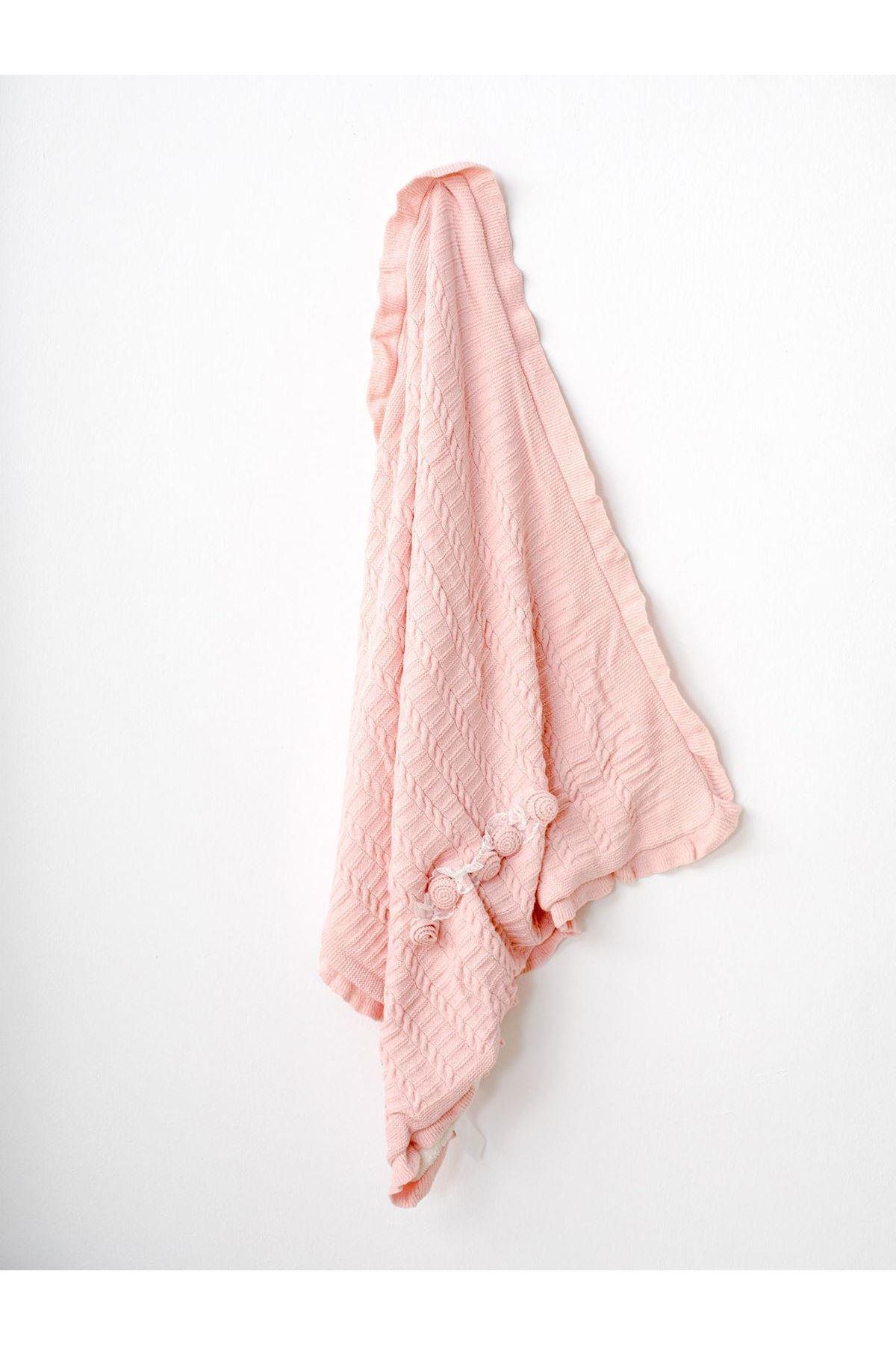 Andywawa AC21251 Basic Bebe Battaniye Pink