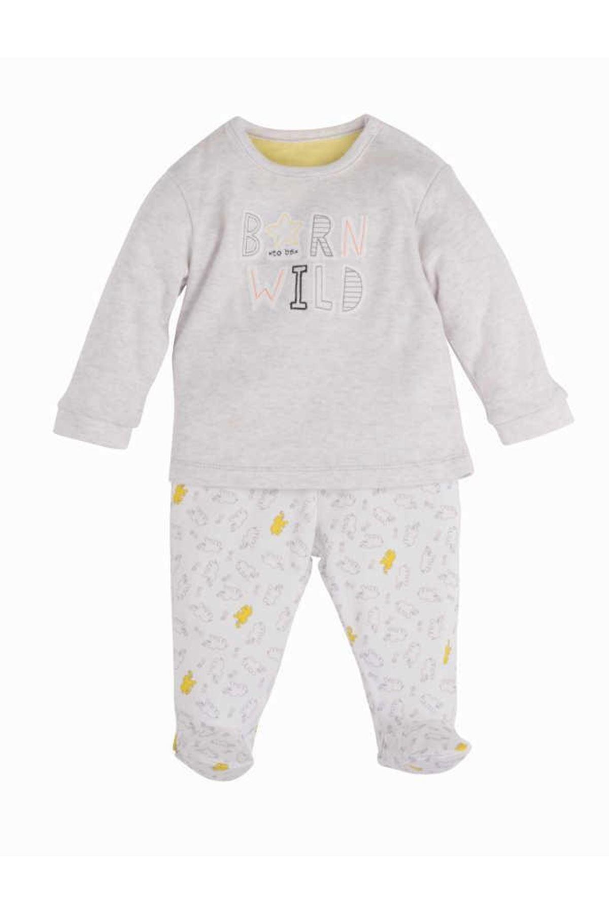 İdil Baby Penye 3'lü Takım 10030 Karamel