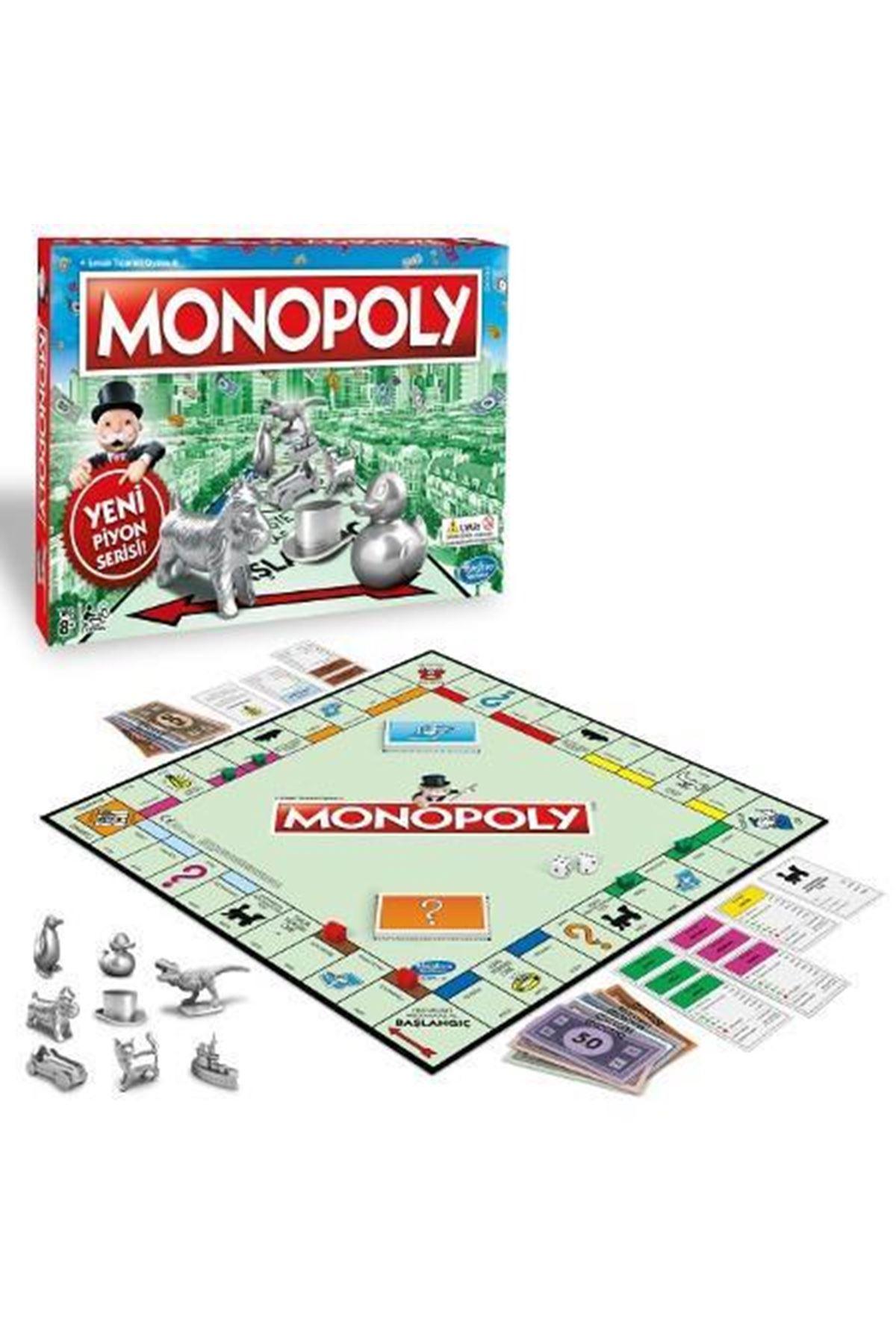 Hasbro Monopoly Yeni Piyon Serisi C1009