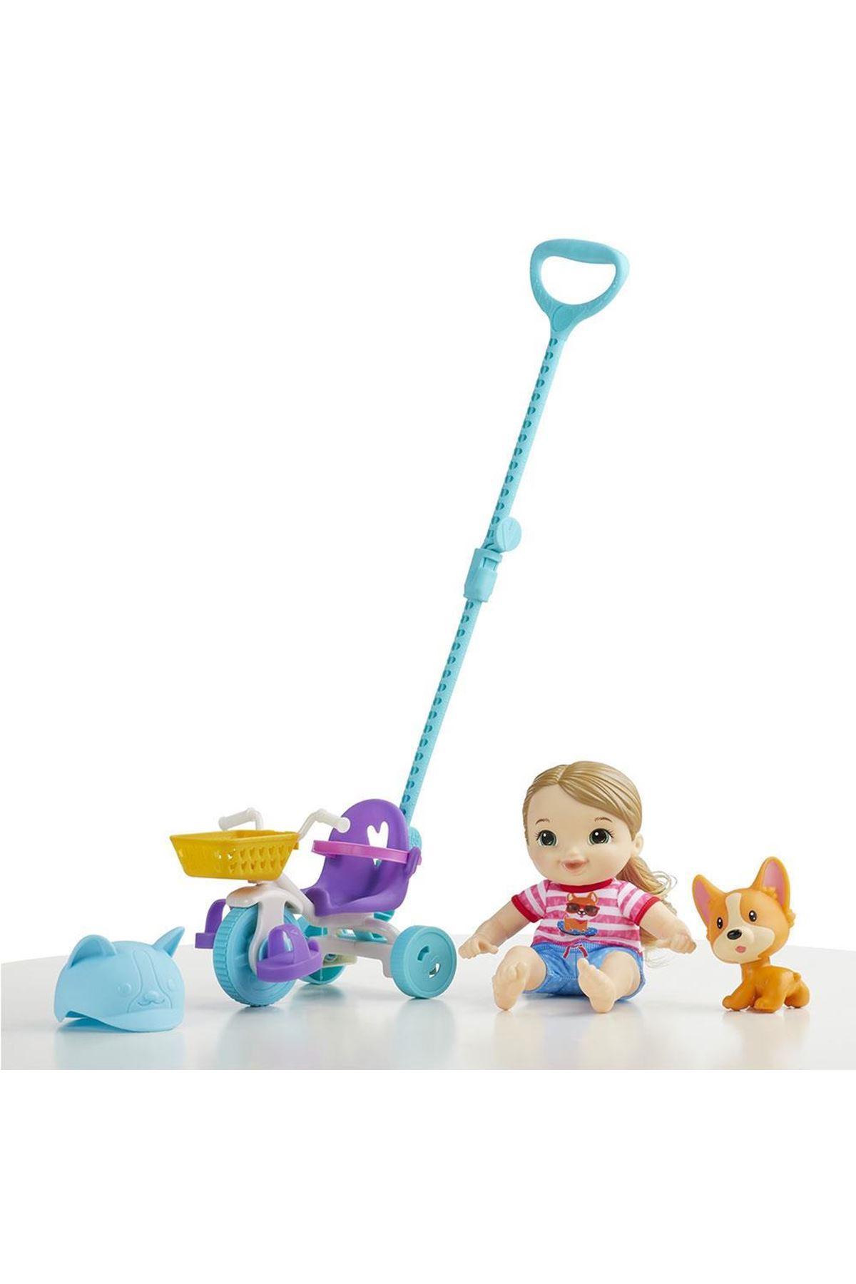 Baby Alive Minik Bebeğim ve Üç Tekerli Bisiklet