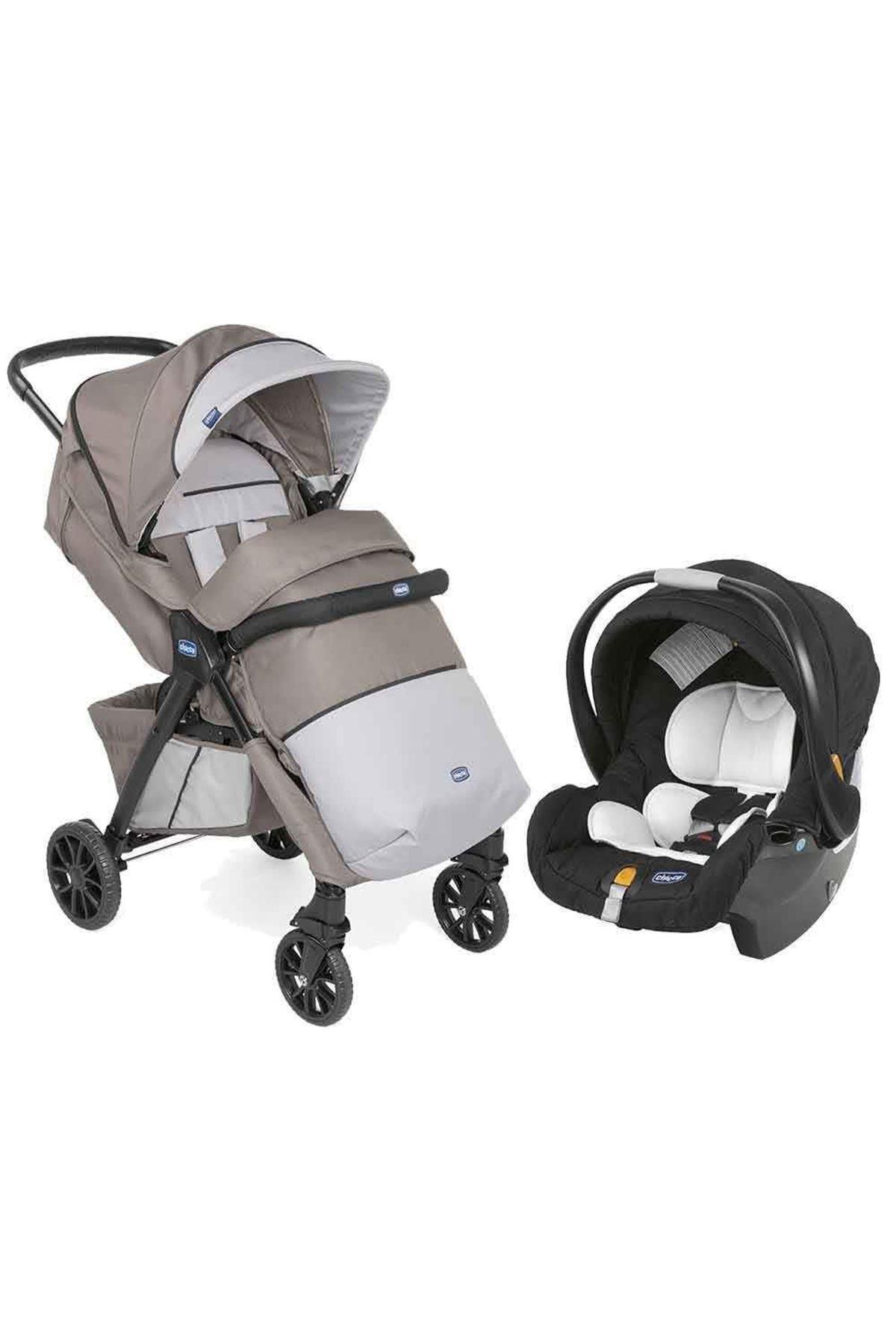 Chicco Duo Kwik One Travel Sistem Bebek Arabası Moka