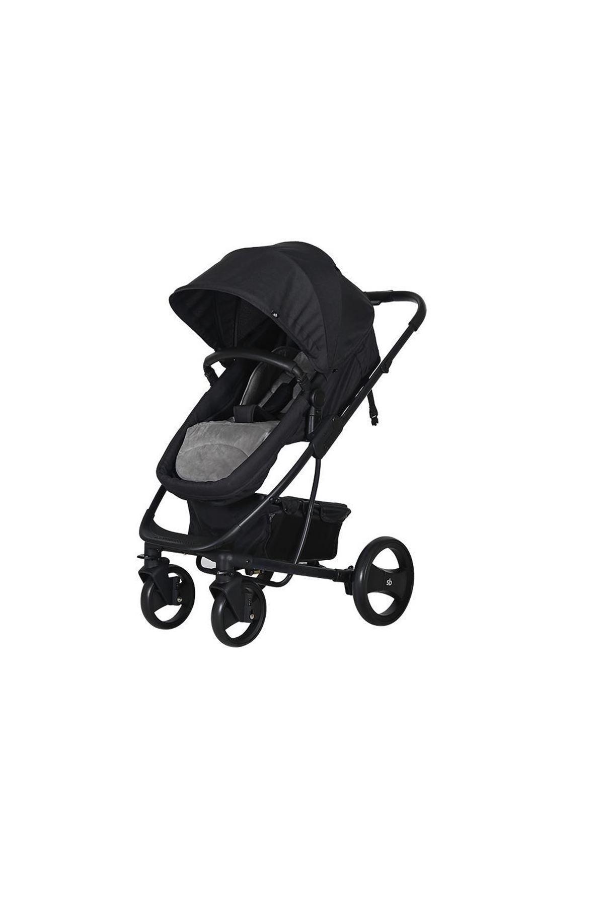 Sunny Baby 9023 İcon Bebek Arabası Siyah