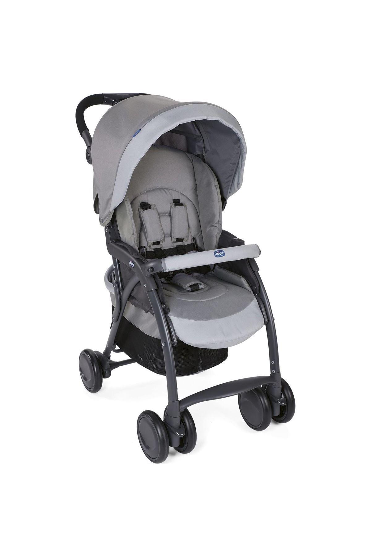 Chicco Simplicity Plus Top Bebek Arabası Grey
