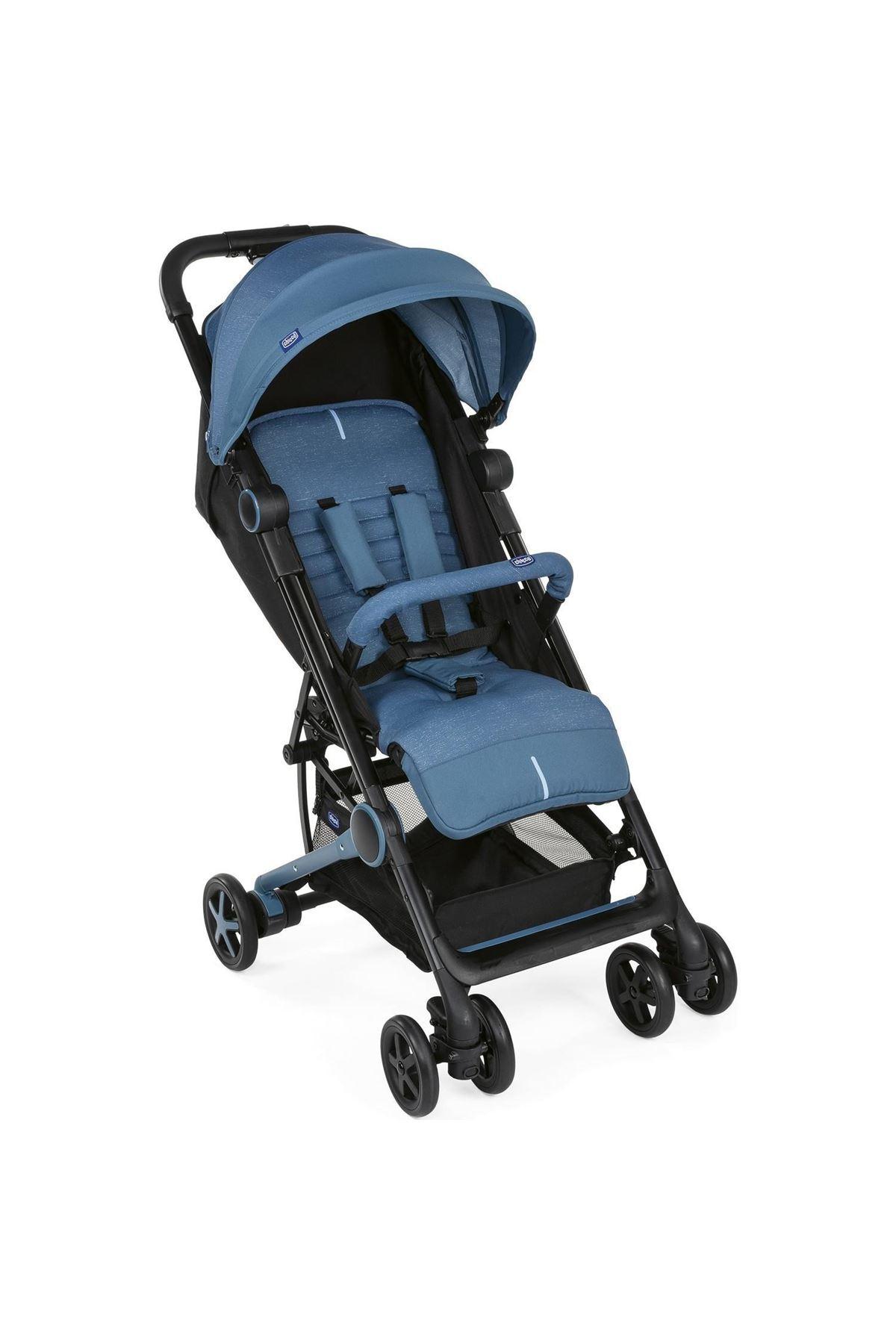 Chicco Miinimo3 Ultra Kompakt Bebek Arabası Denim