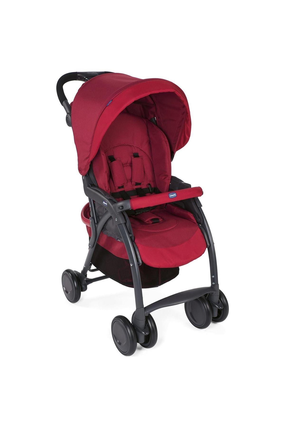 Chicco Simplicity Plus Top Bebek Arabası Scarlet