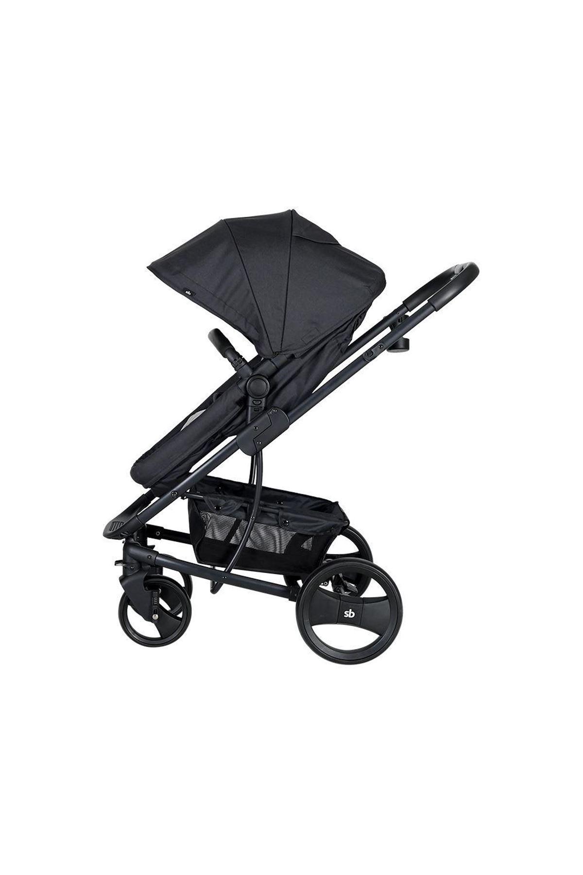 Sunny Baby 9023 İcon Travel Sistem Bebek Arabası Siyah
