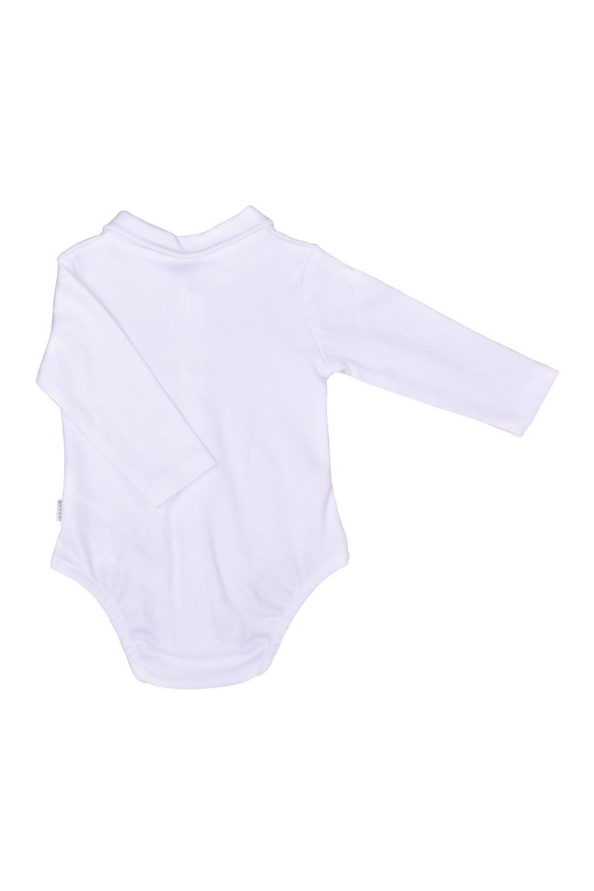 KitiKate Organik Dreams Cepli Gömlek Body Erkek 38699 Beyaz