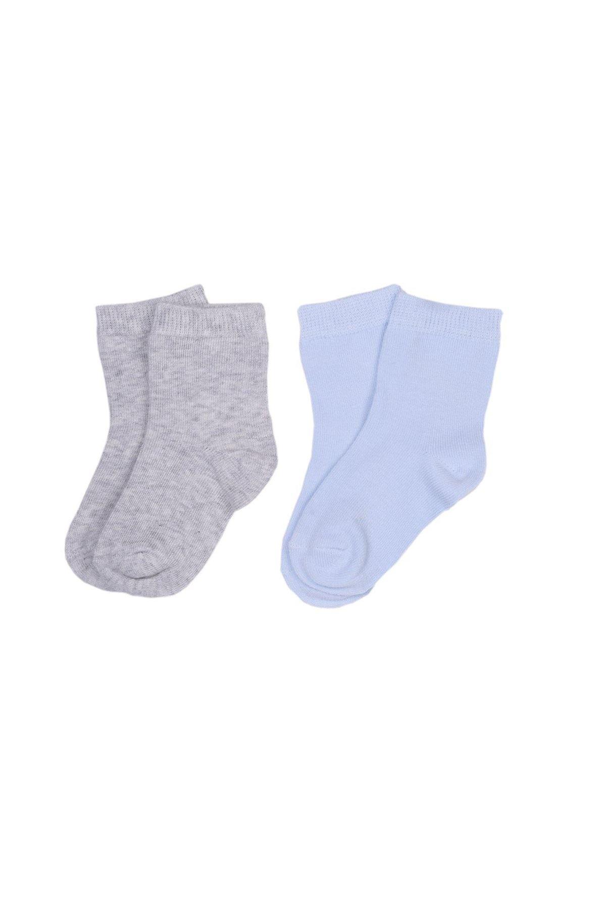 KitiKate Organik 2li Çorap 52060 Gri